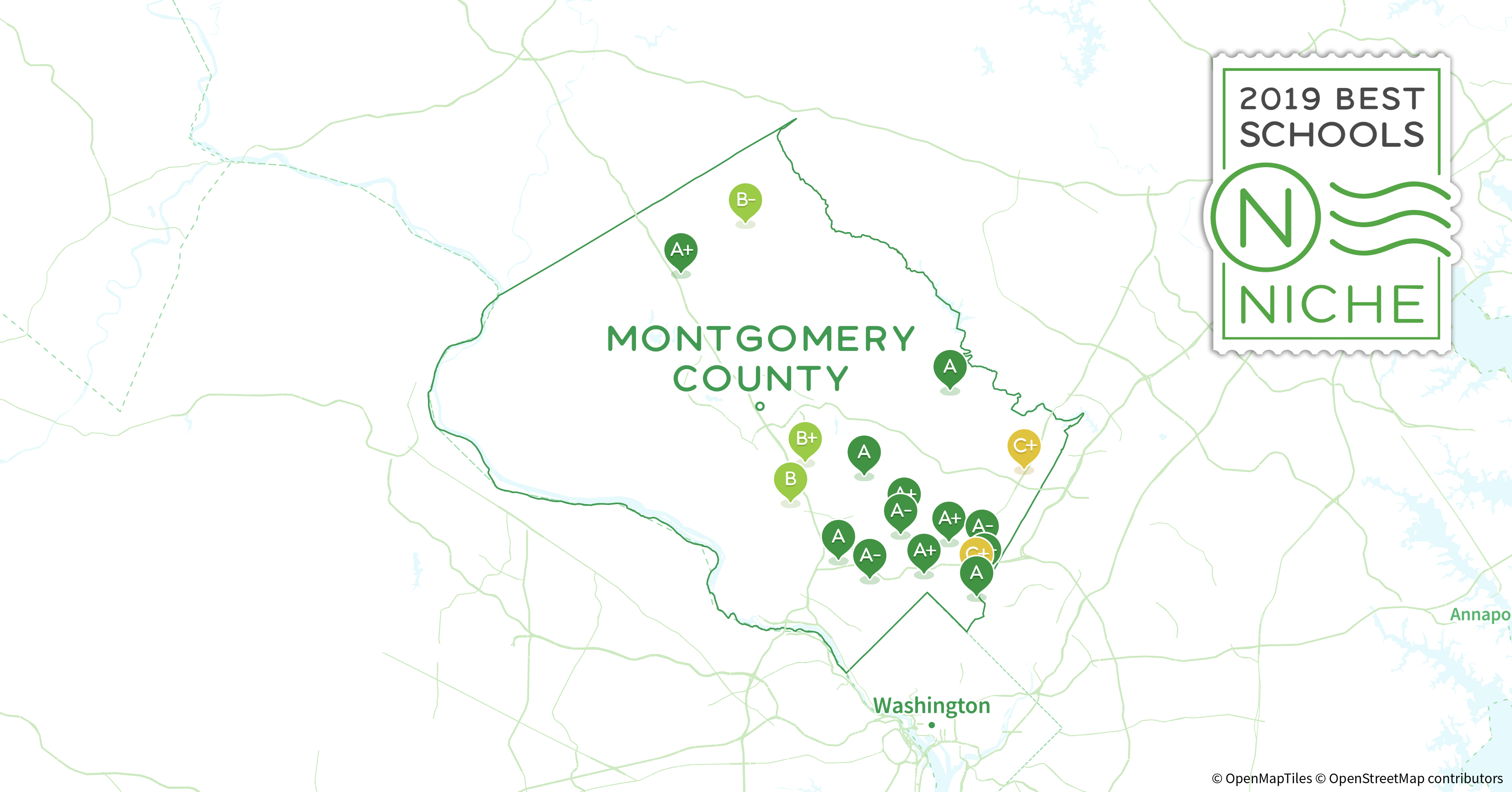 Montco Campus Map.2019 Largest High Schools In Montgomery County Md Niche