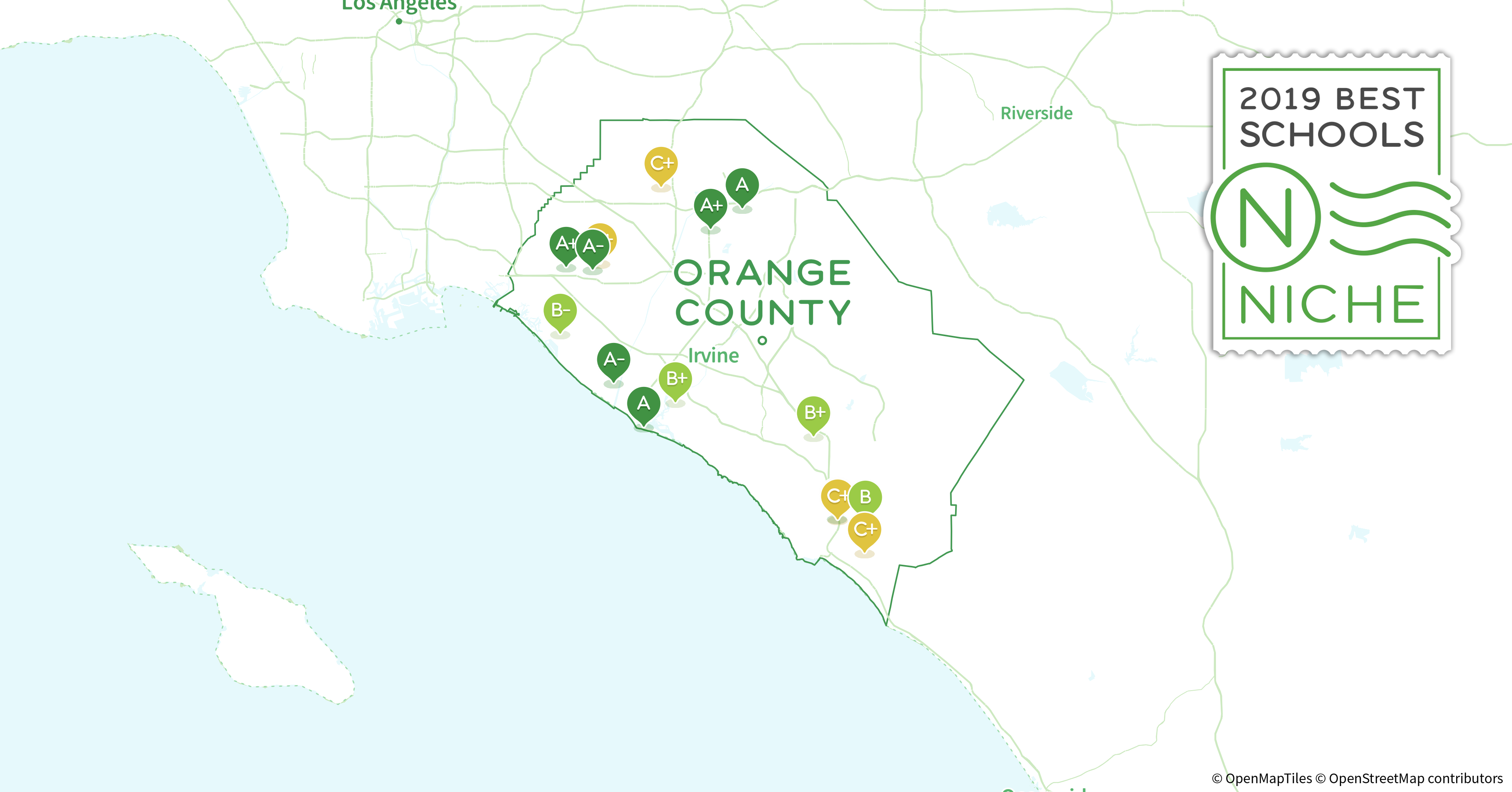 2019 Largest Public High Schools In Orange County Ca Niche