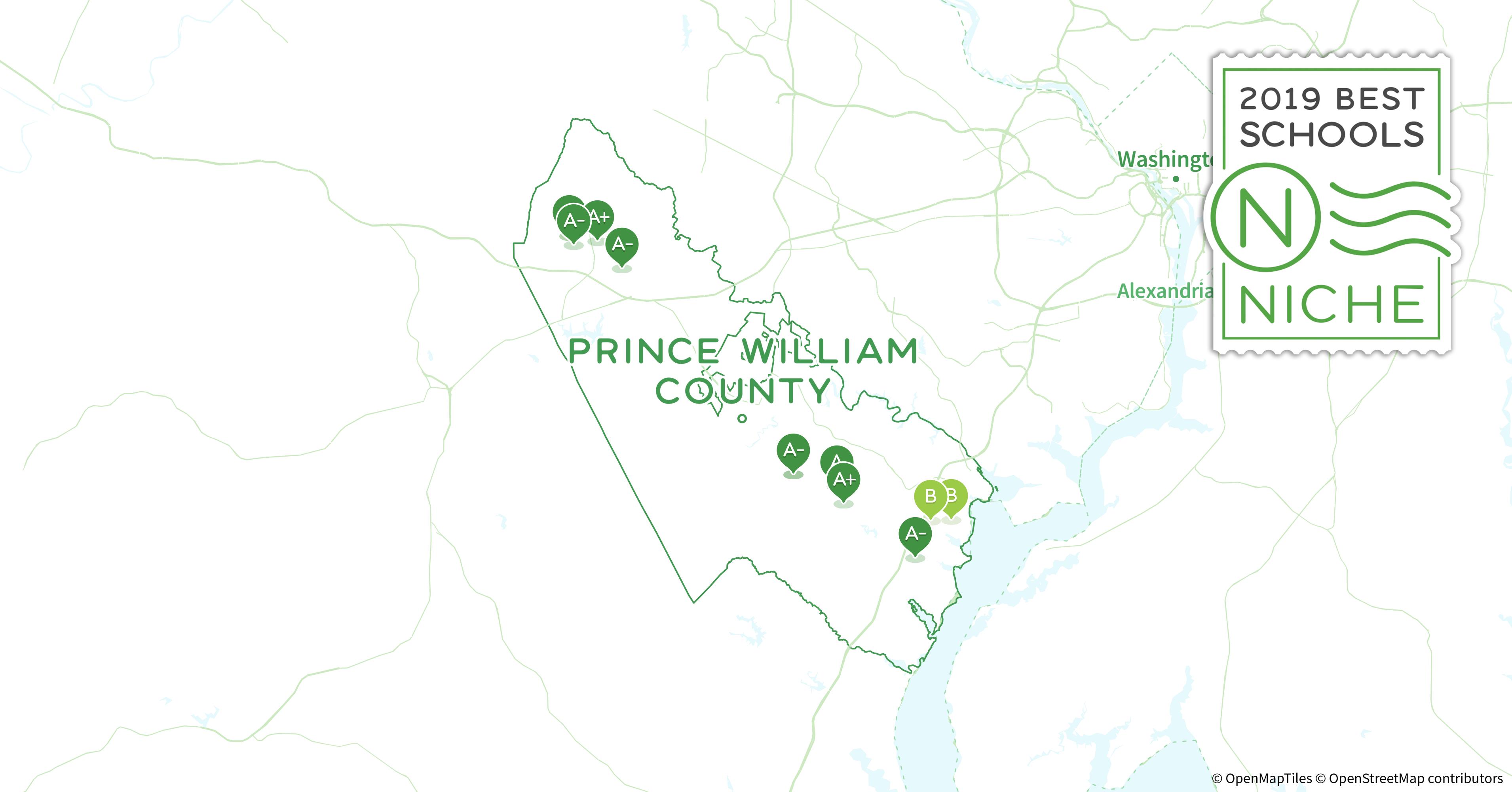 Prince William County Zip Code Map.Private Schools In Prince William County Va Niche