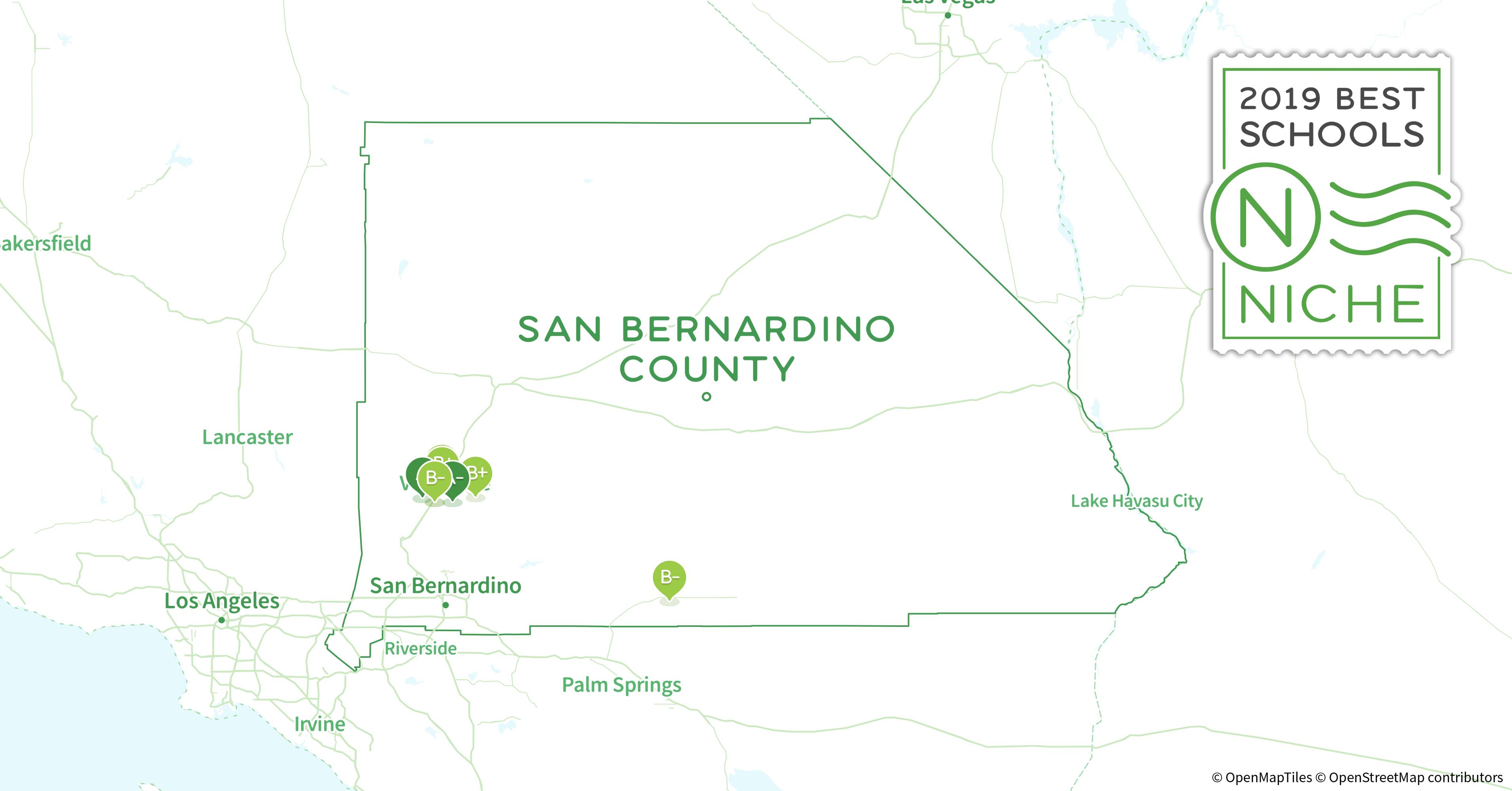 School Districts In San Bernardino County Ca Niche