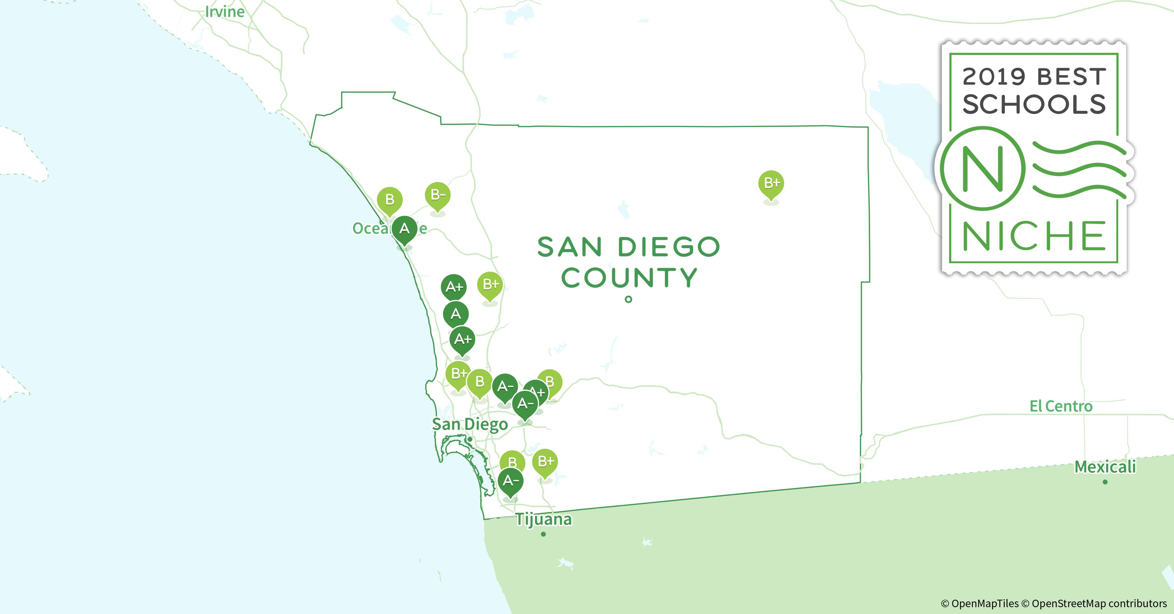 2019 Best Public High Schools In San Diego County Ca Niche
