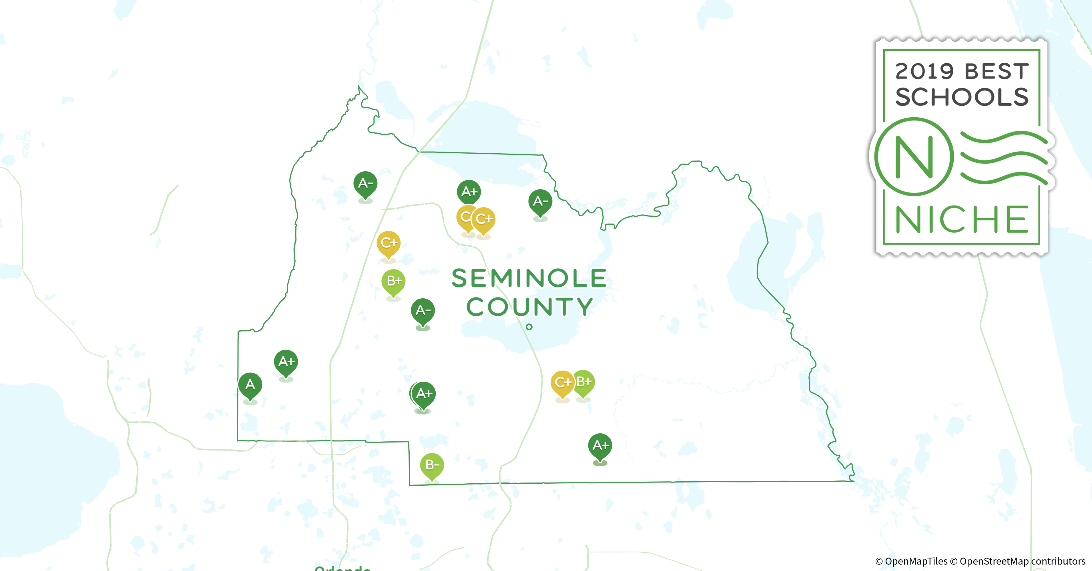 Seminole State Oviedo Campus Map.2019 Best Private High Schools In Seminole County Fl Niche