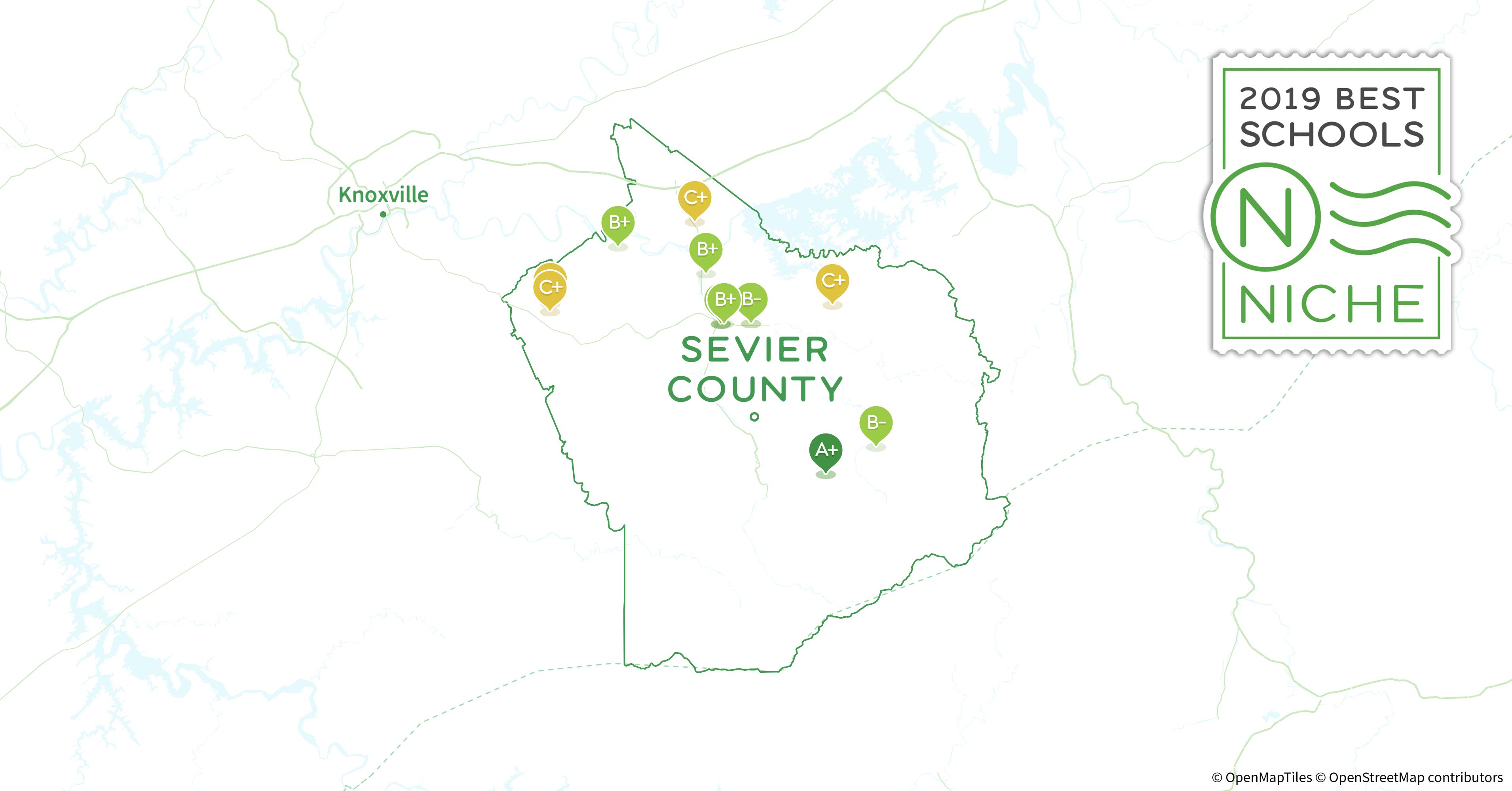 Sevierville Zip Code Map.2019 Best High Schools In Sevier County Tn Niche