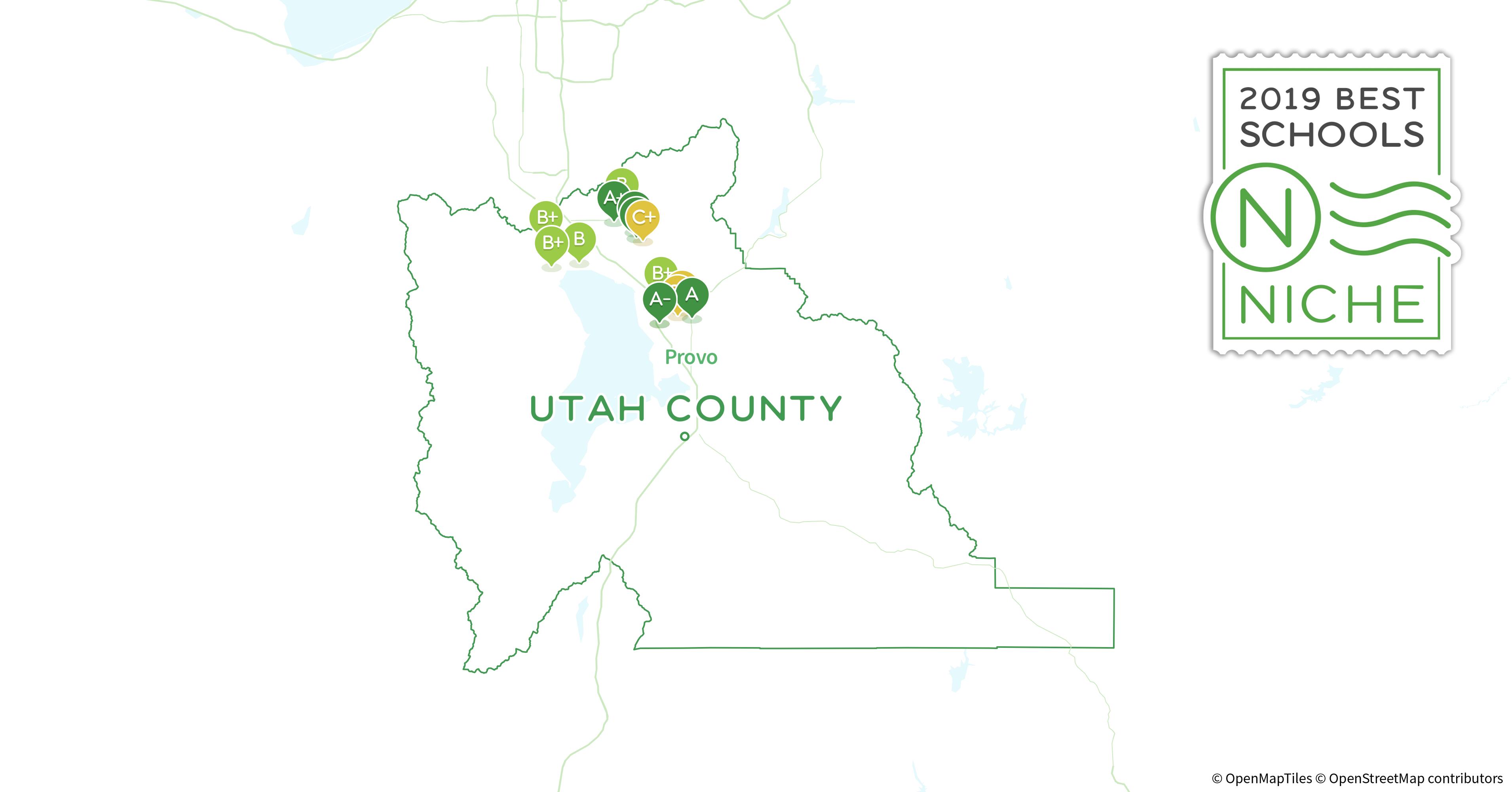 Orem Utah Zip Code Map.Charter Schools In Utah County Ut Niche