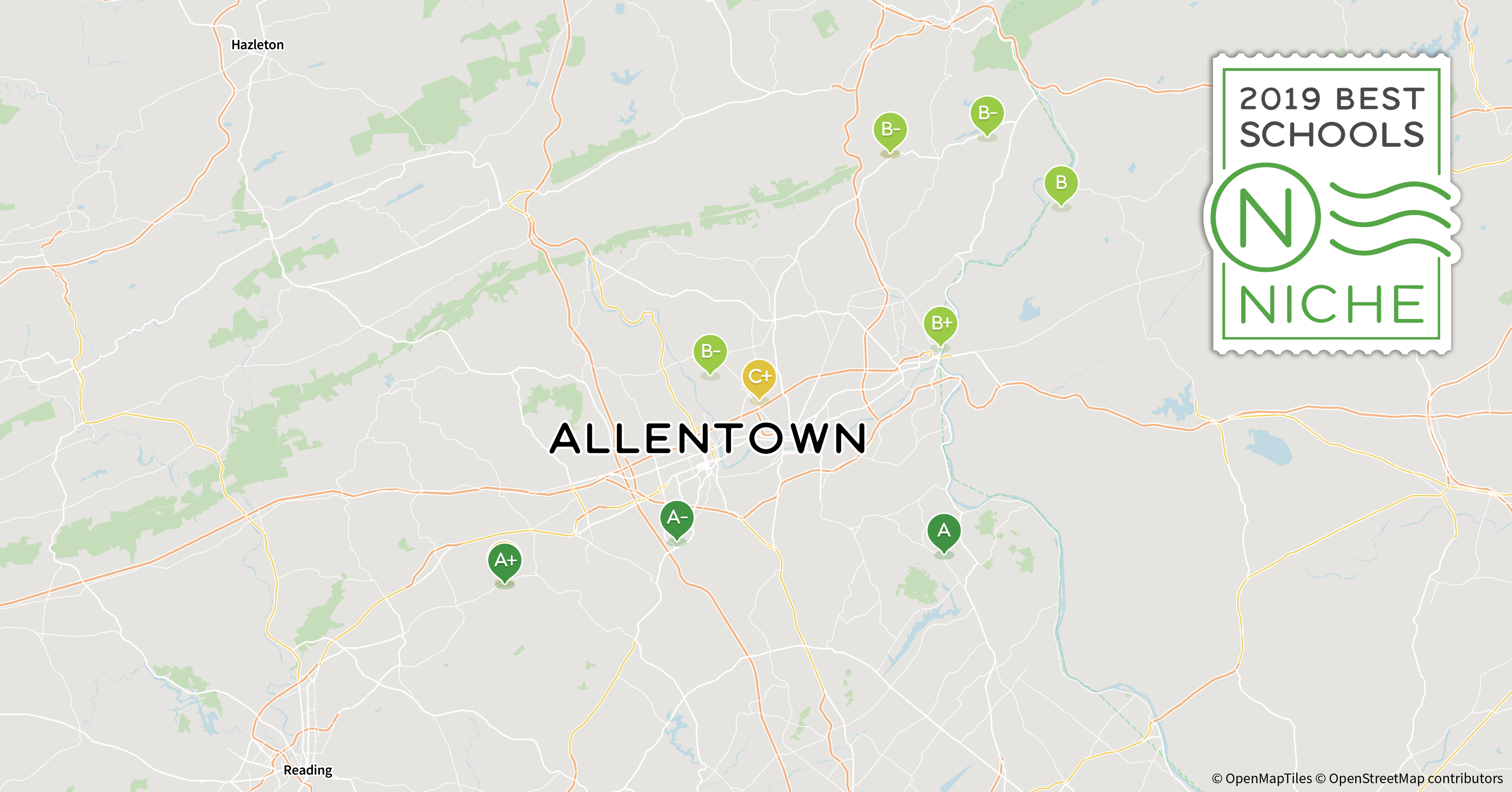 c26309e1017 2019 Best School Districts in the Allentown Area - Niche