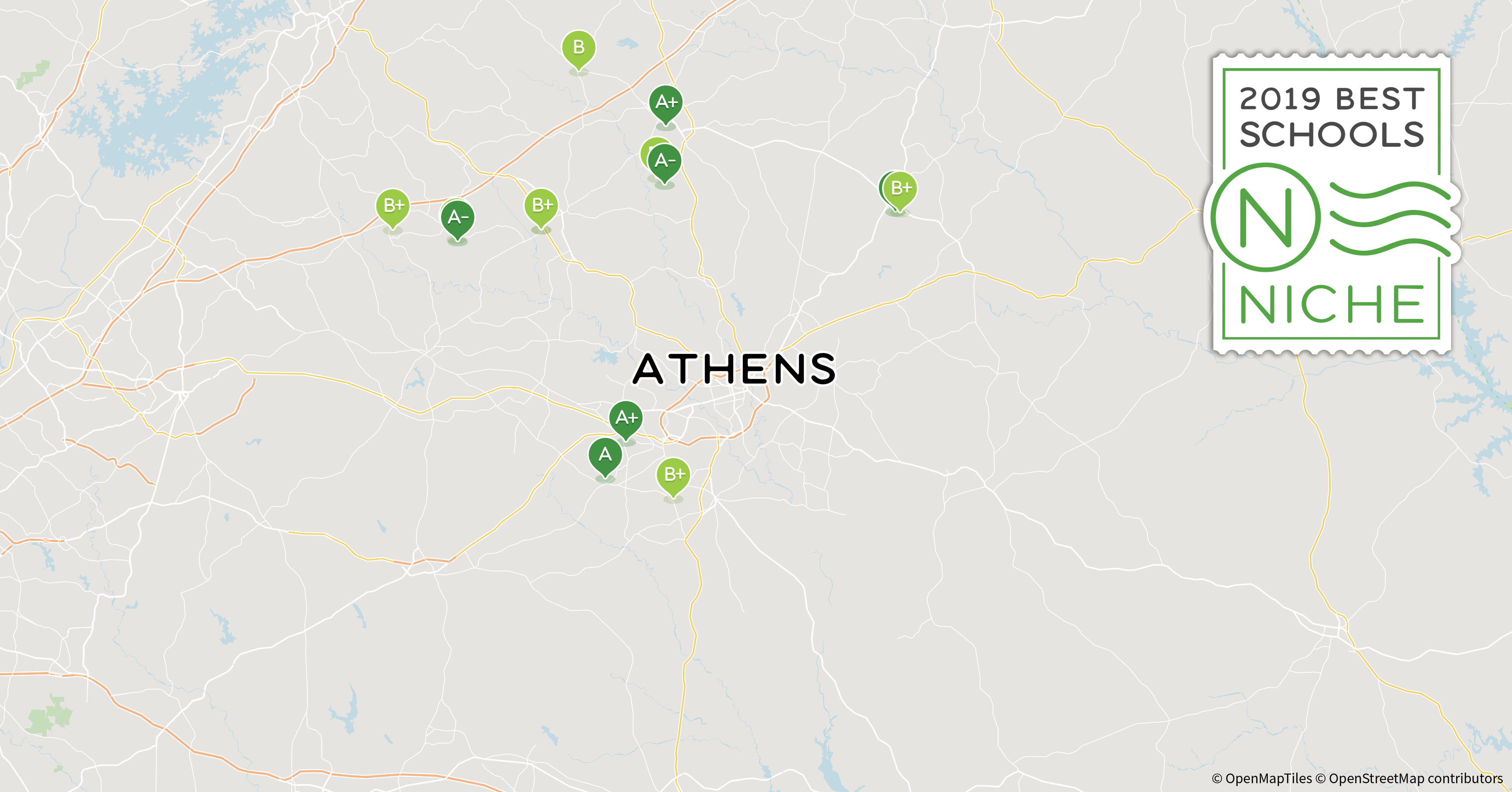 2019 Best School Districts In The Athens Area Niche
