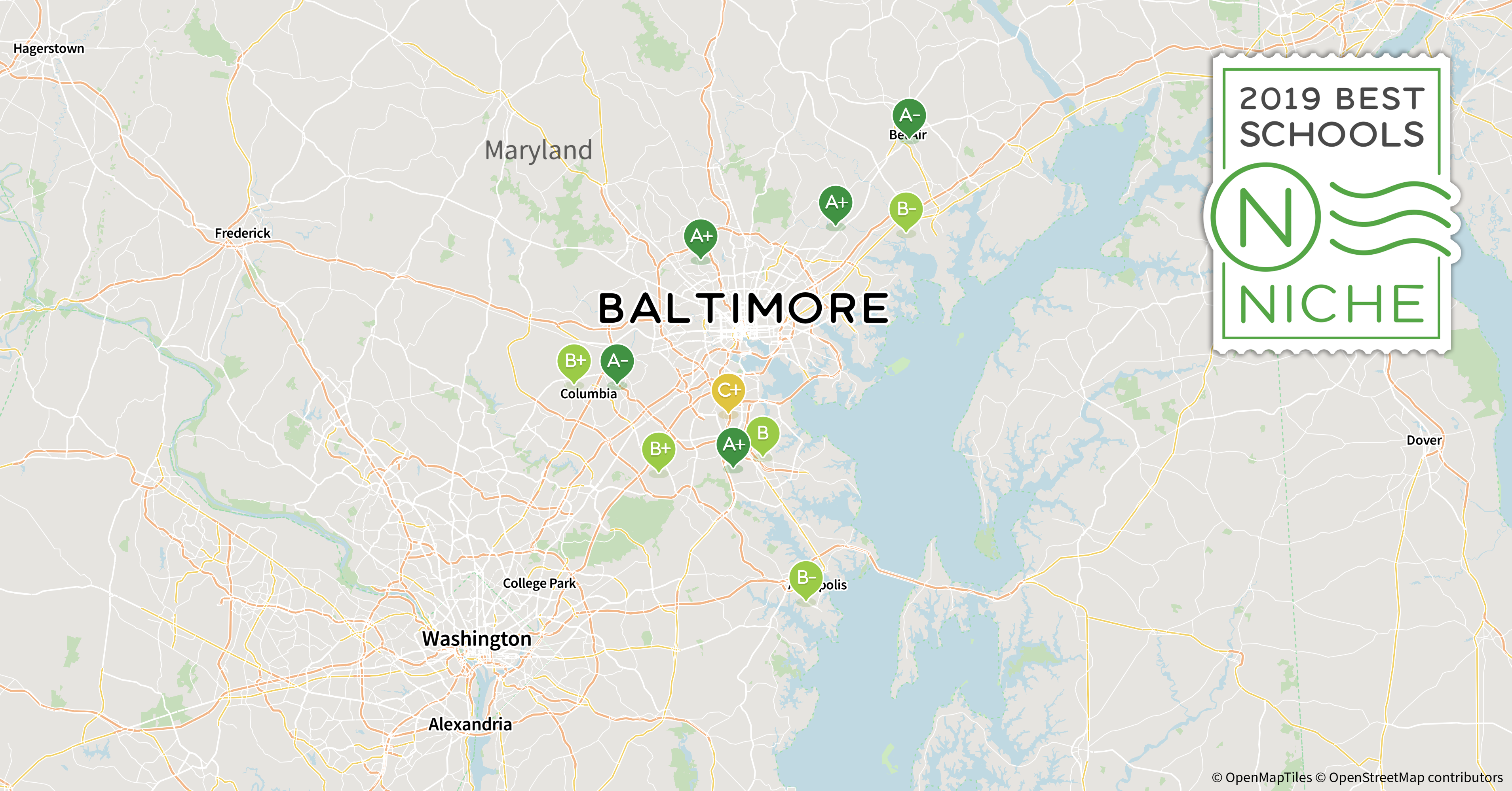 2019 Best School Districts In The Baltimore Area Niche