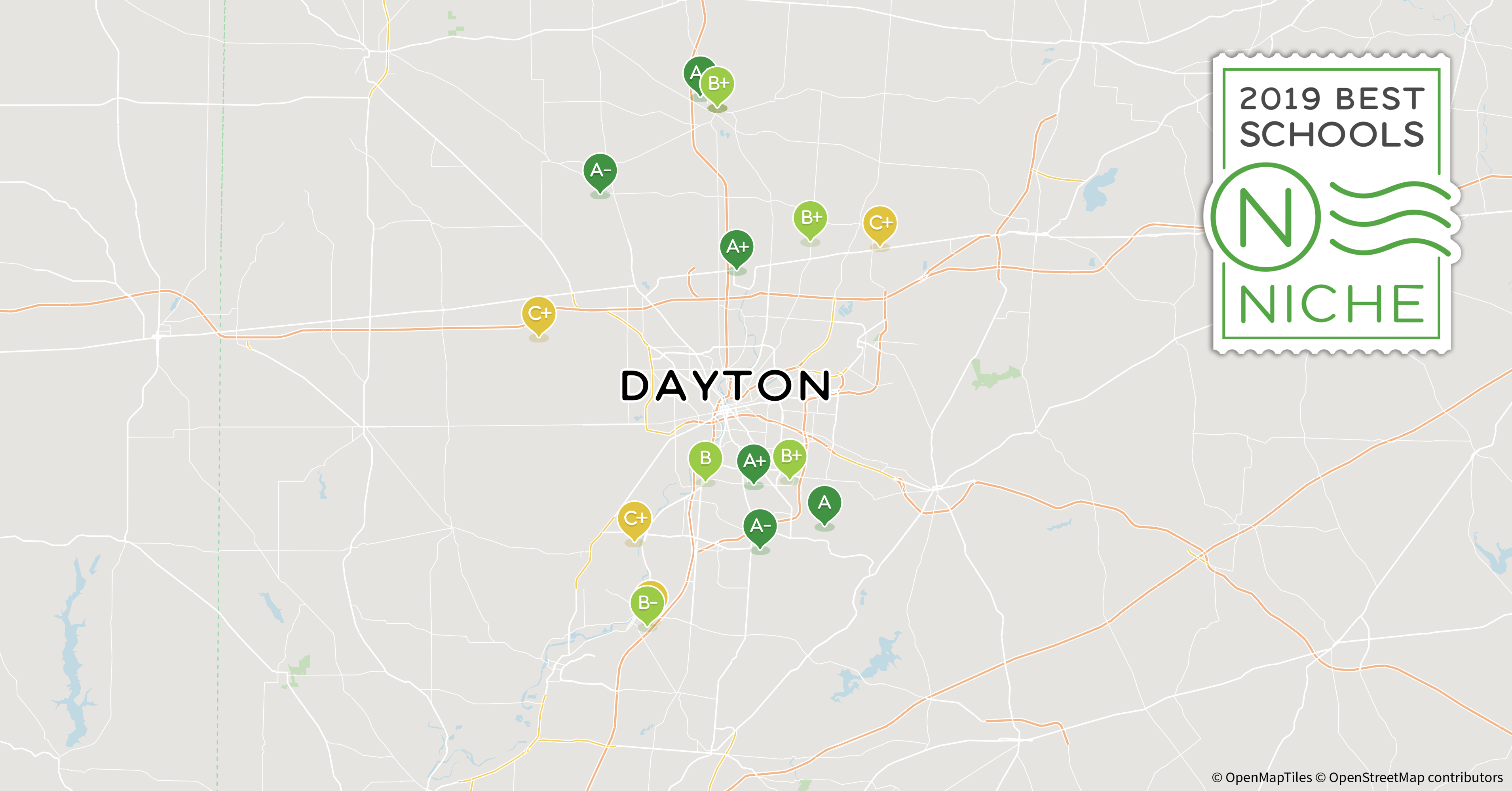 2019 Best School Districts In The Dayton Area Niche - Map-kettering-k12-oh-us