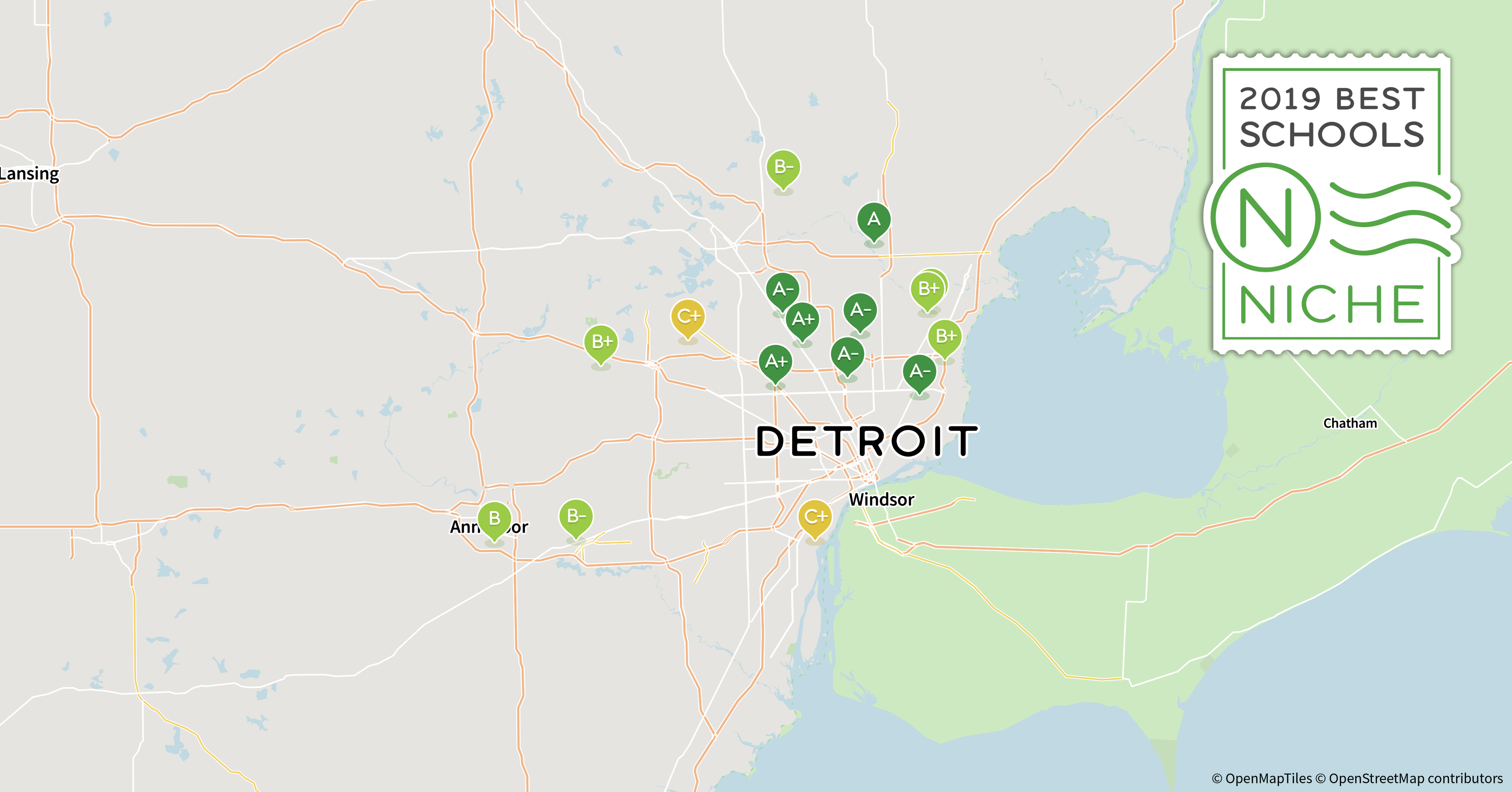 2019 Best School Districts in the Detroit Area - Niche