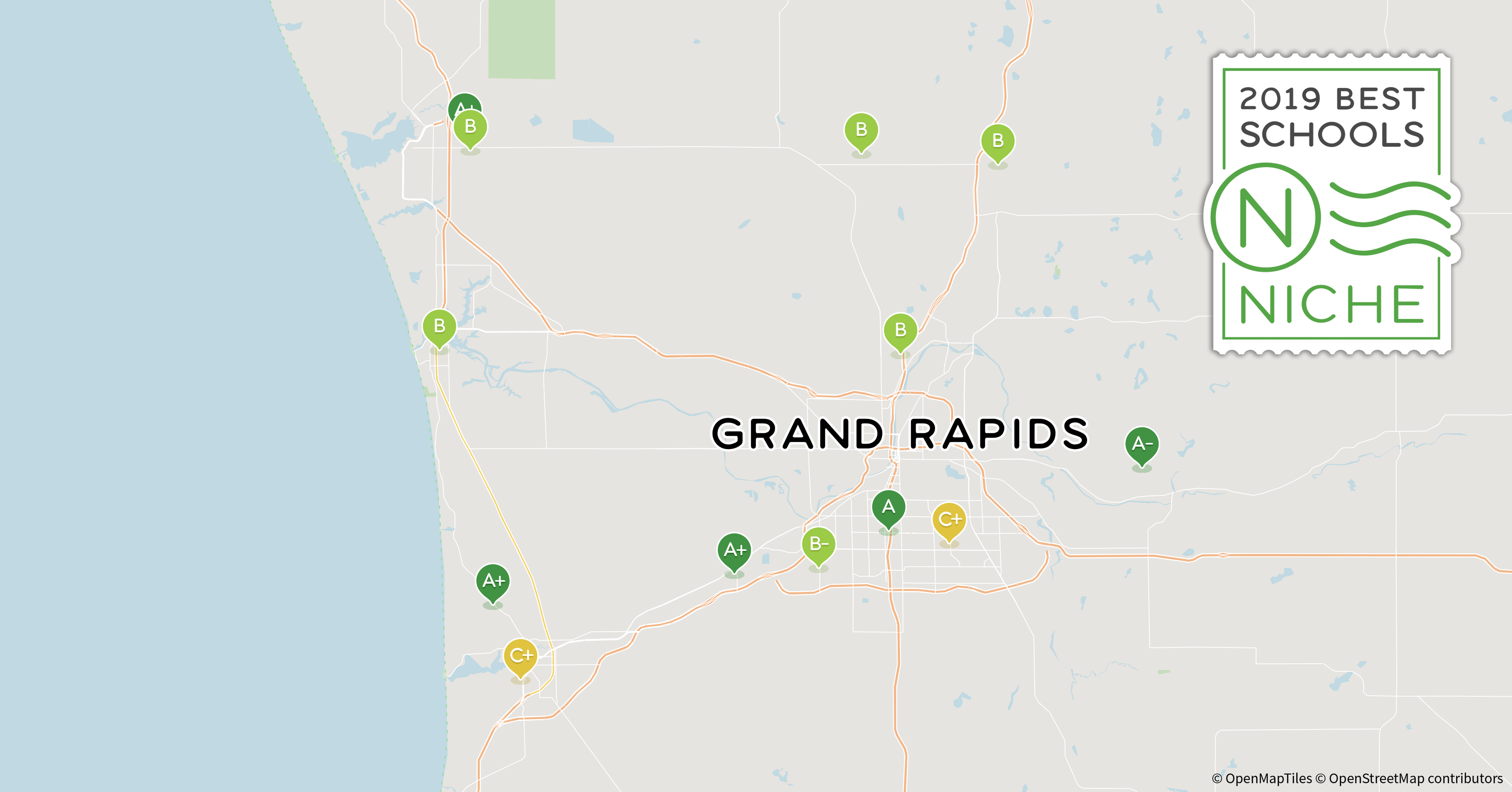 2019 Best School Districts In The Grand Rapids Area Niche