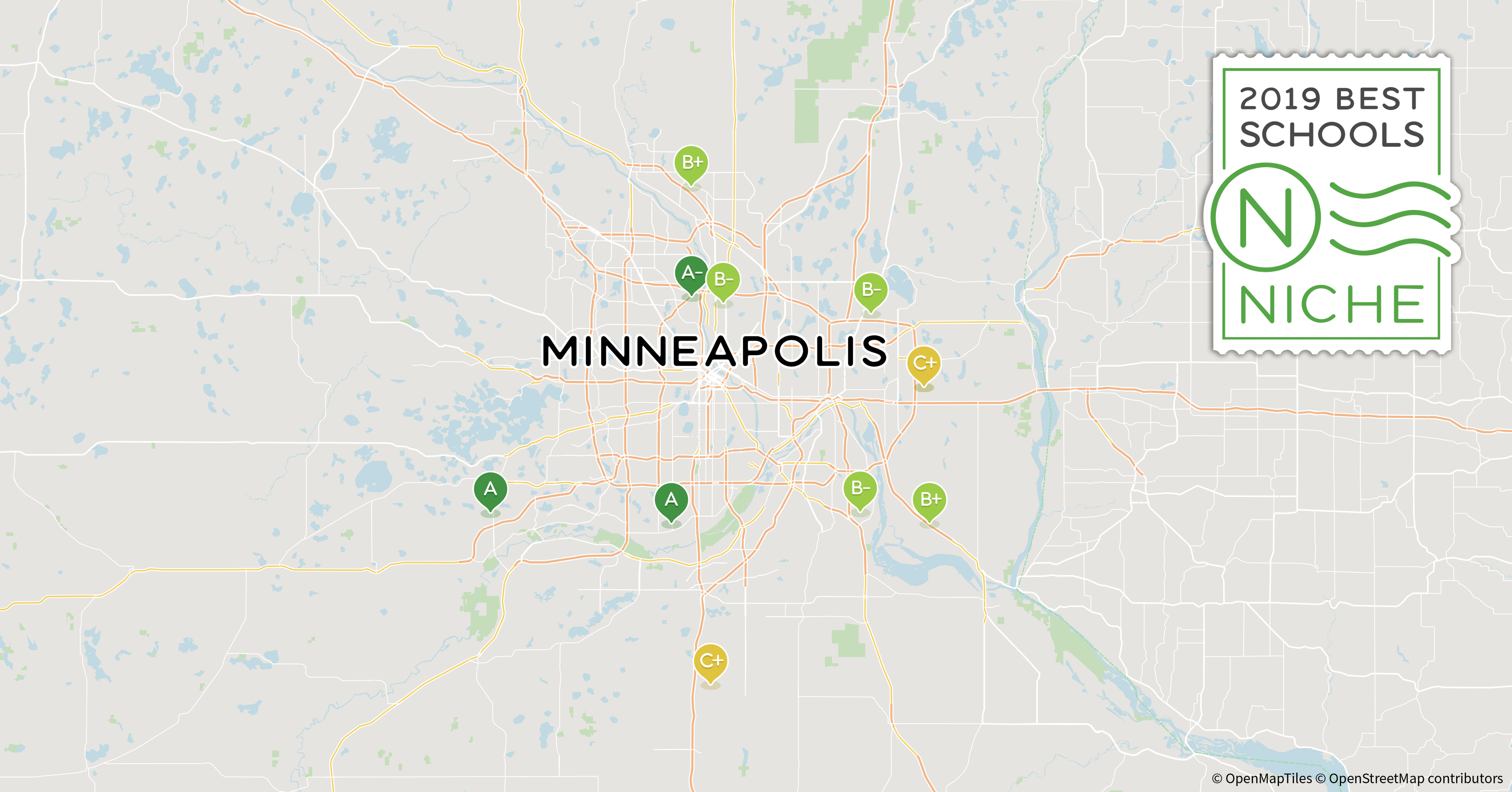 Mpls Zip Code Map.2019 Best School Districts In The Minneapolis St Paul Area Niche
