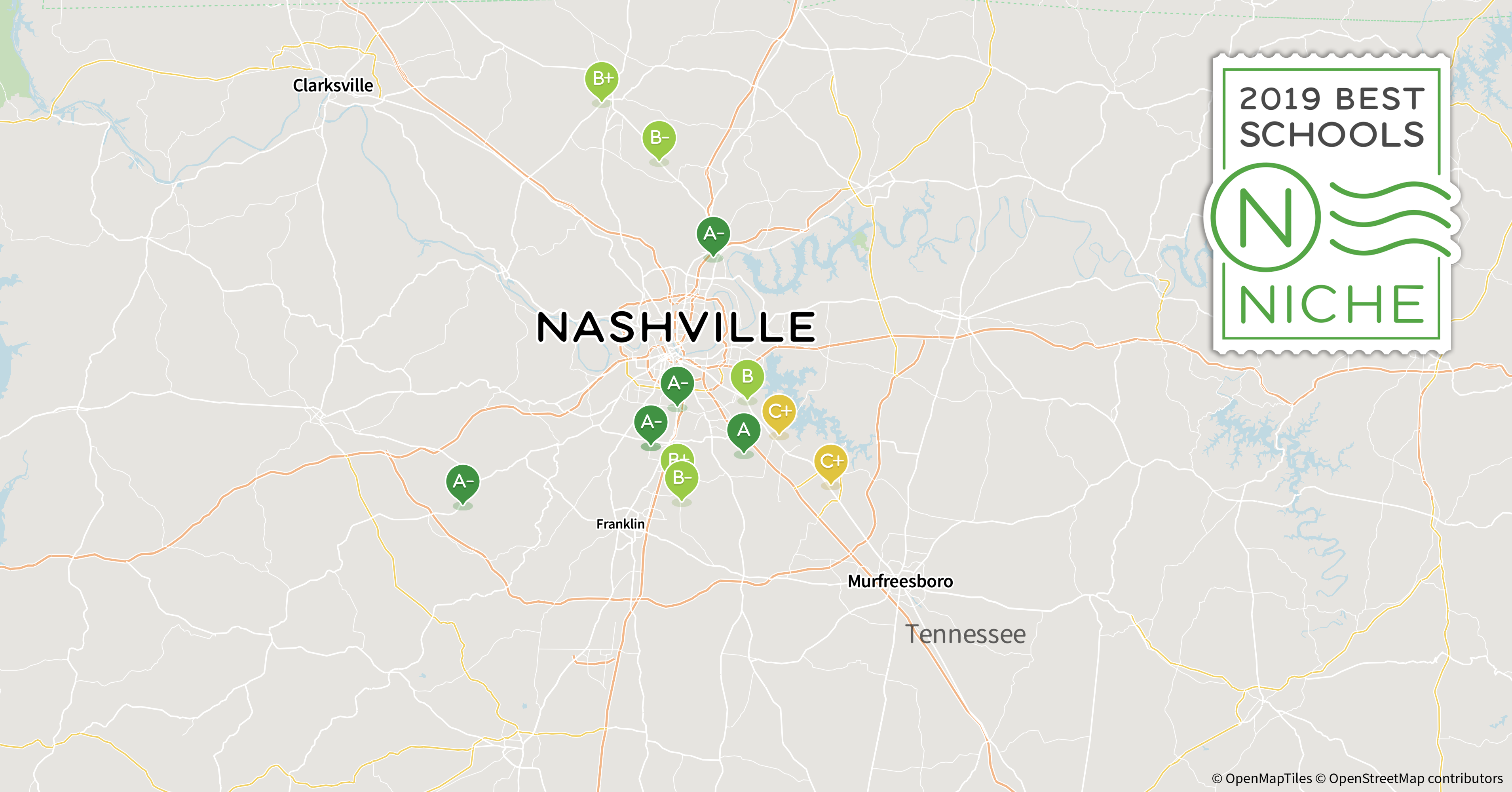 2019 Best School Districts in the Nashville Area - Niche