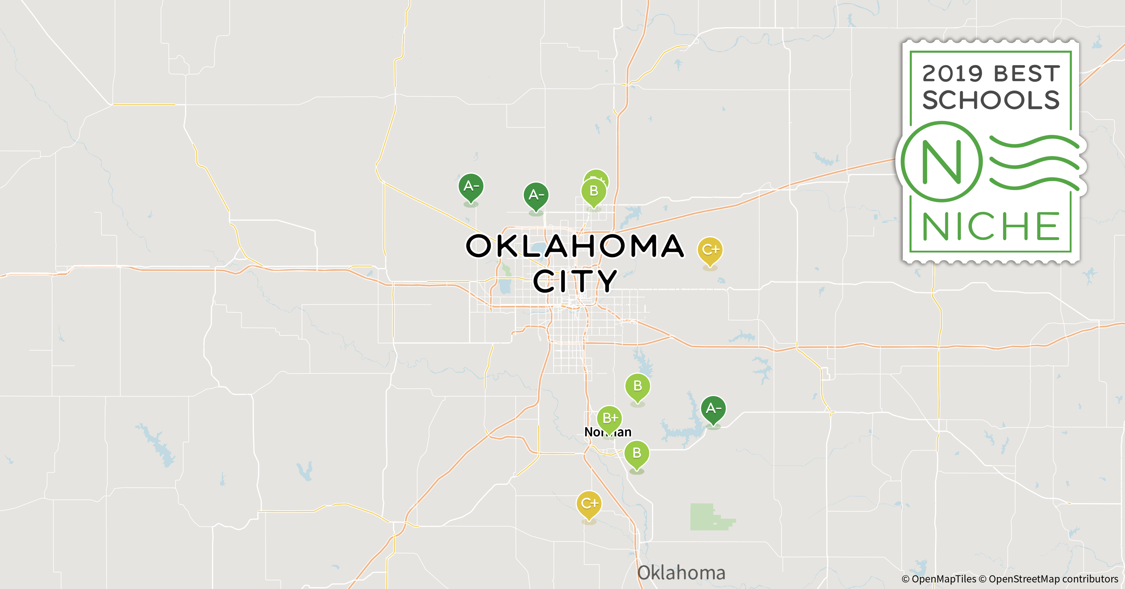 2019 Best School Districts In The Oklahoma City Area Niche