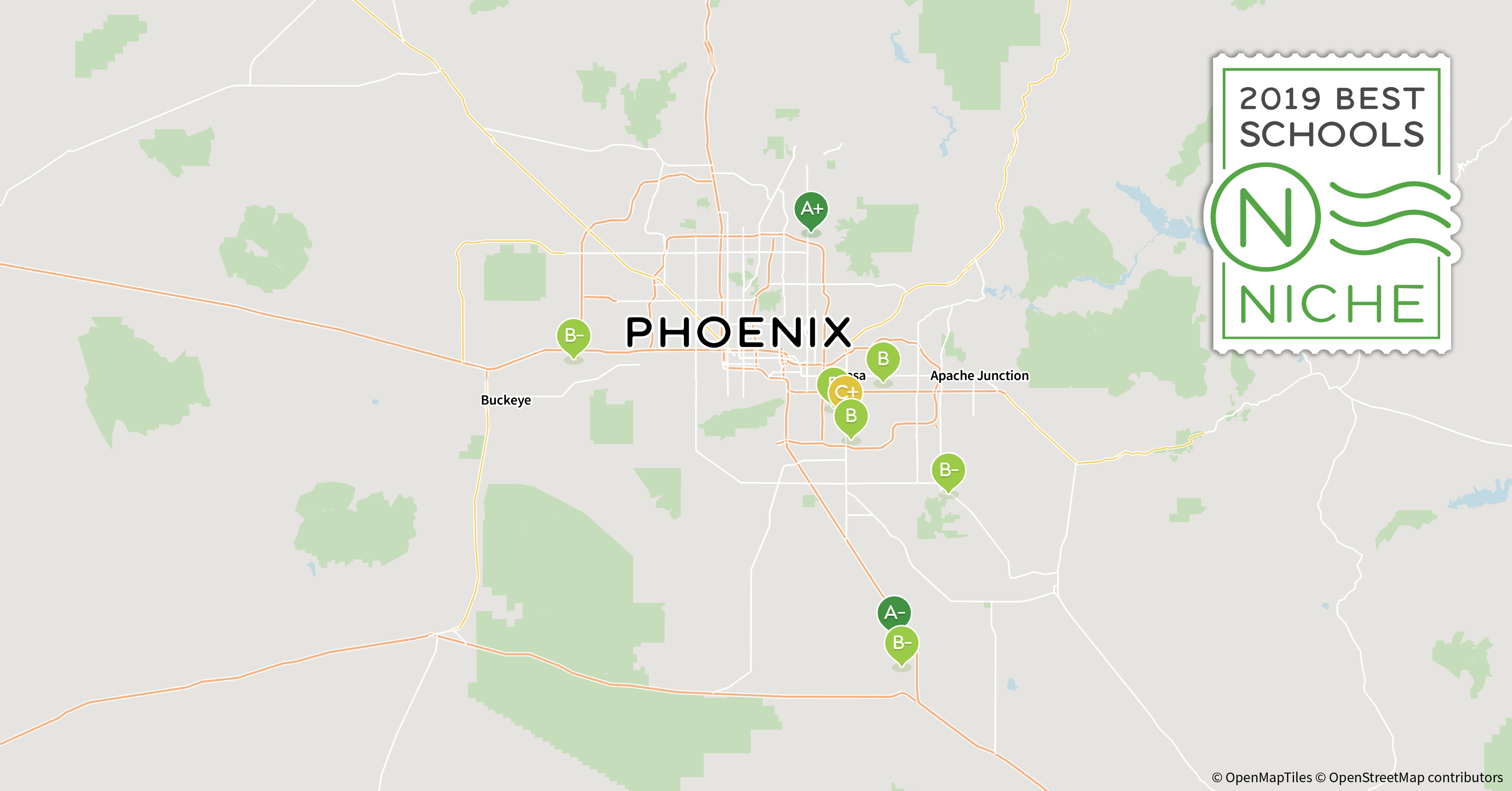 2019 Best School Districts In The Phoenix Area Niche