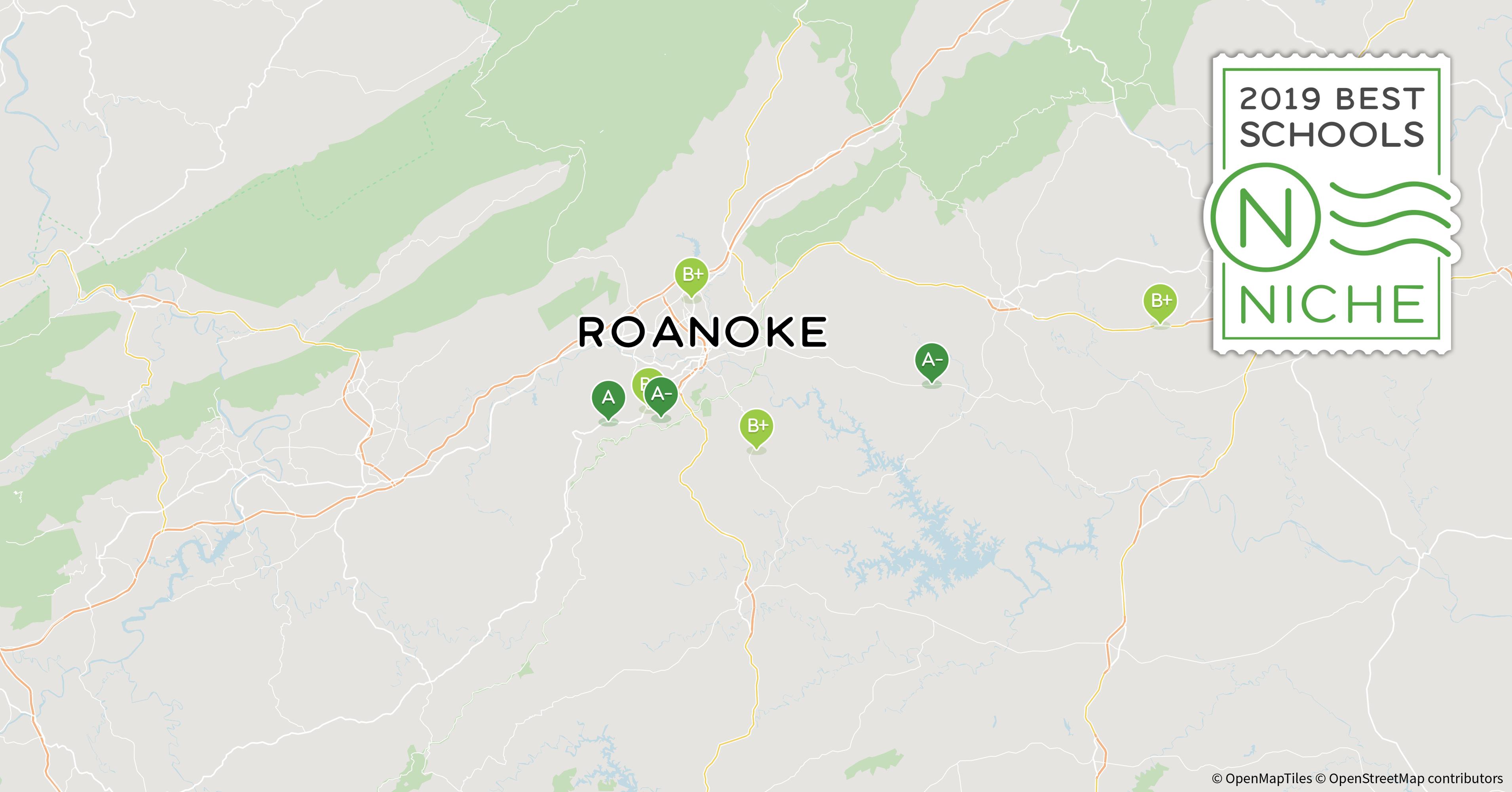 Roanoke Zip Code Map.2019 Best School Districts In The Roanoke Area Niche