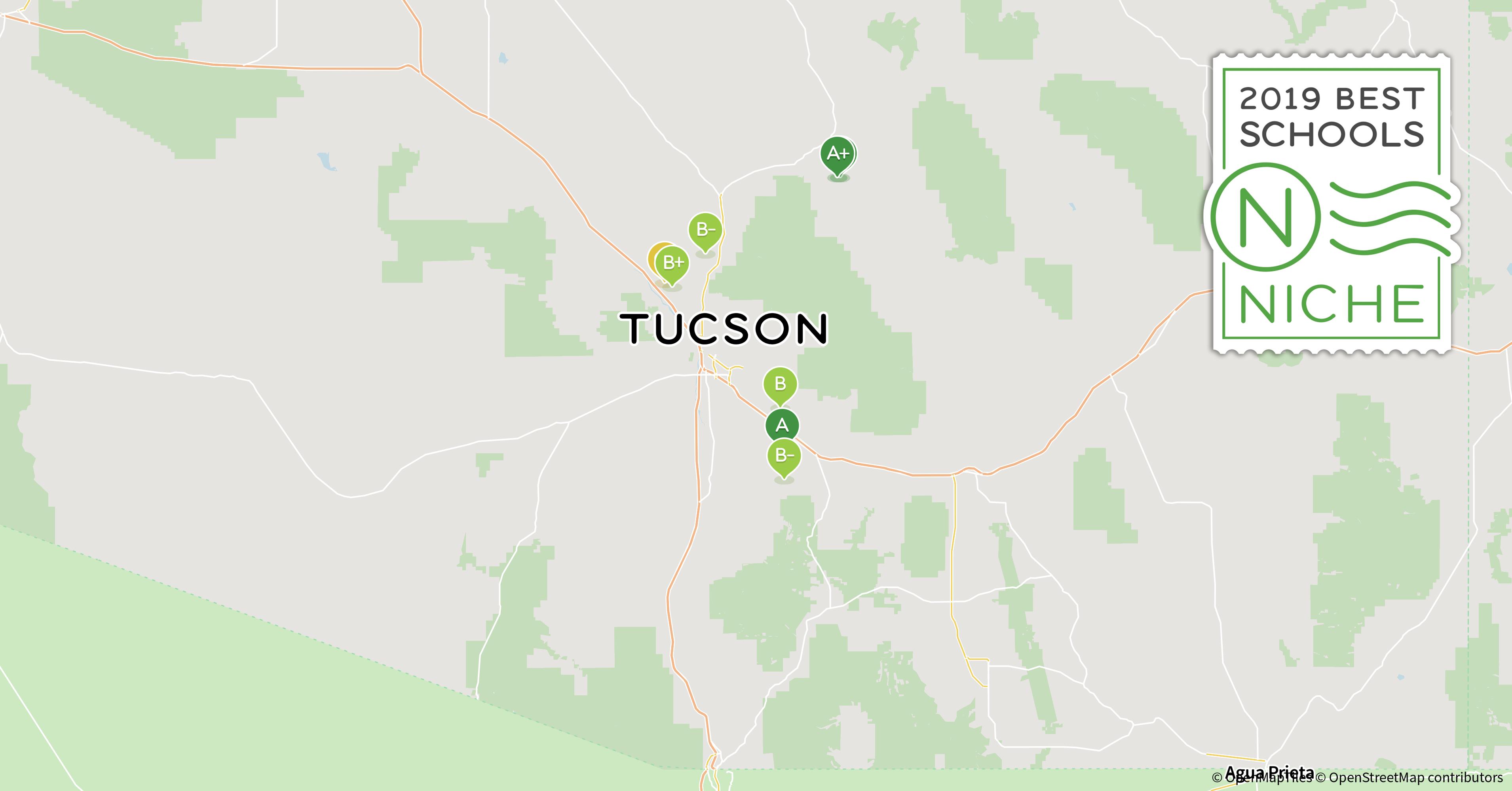 Florida School Districts Map.Tucsons Major School Districts Tucson Bike Share Program Moving