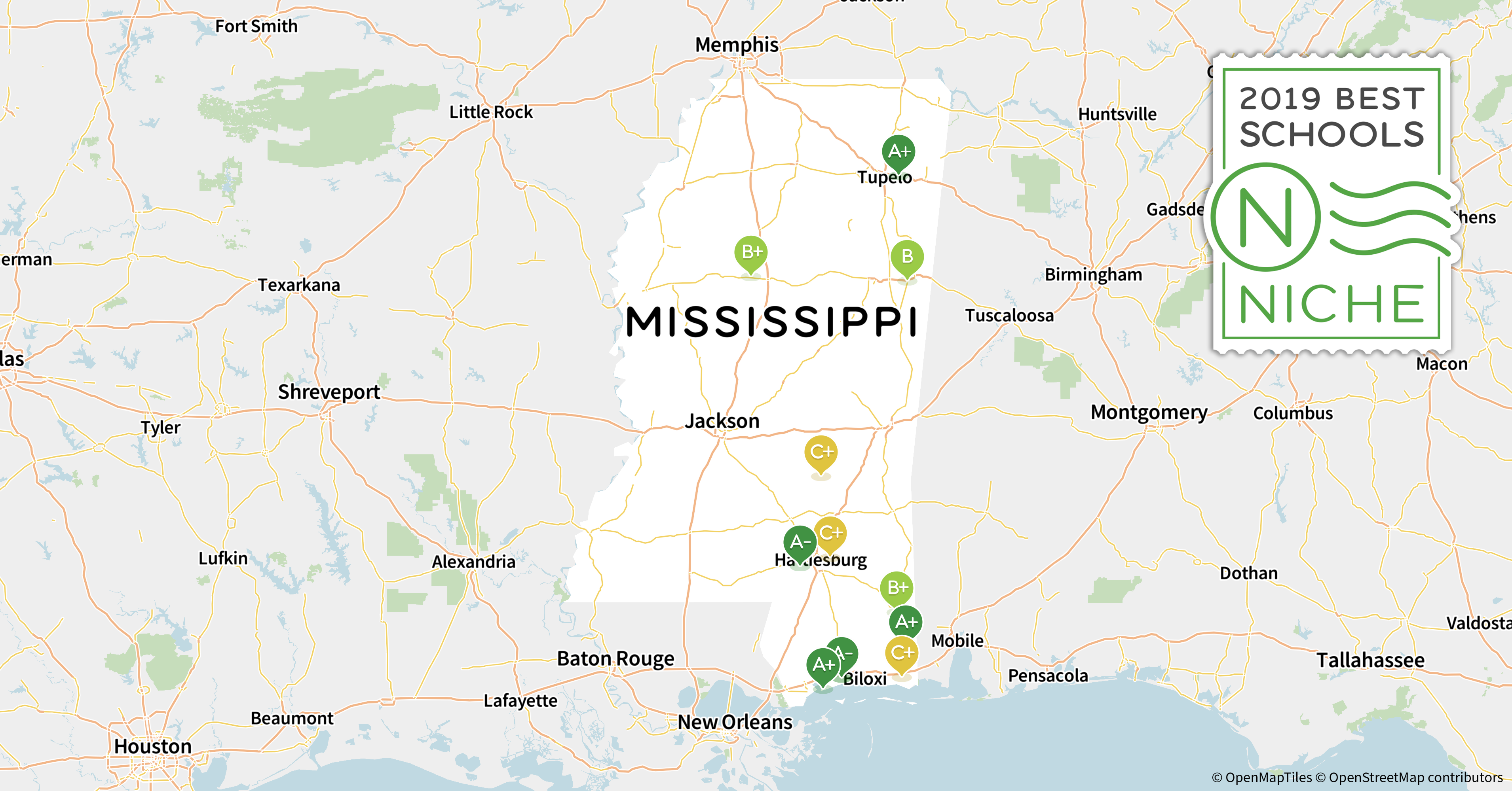 Hattiesburg Ms Zip Code Map.2019 Best Private High Schools In Mississippi Niche