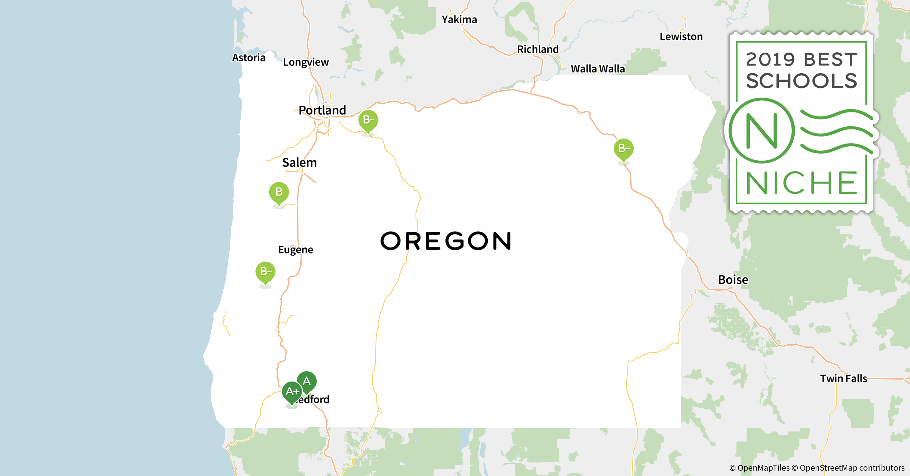 2019 Best School Districts in Oregon - Niche