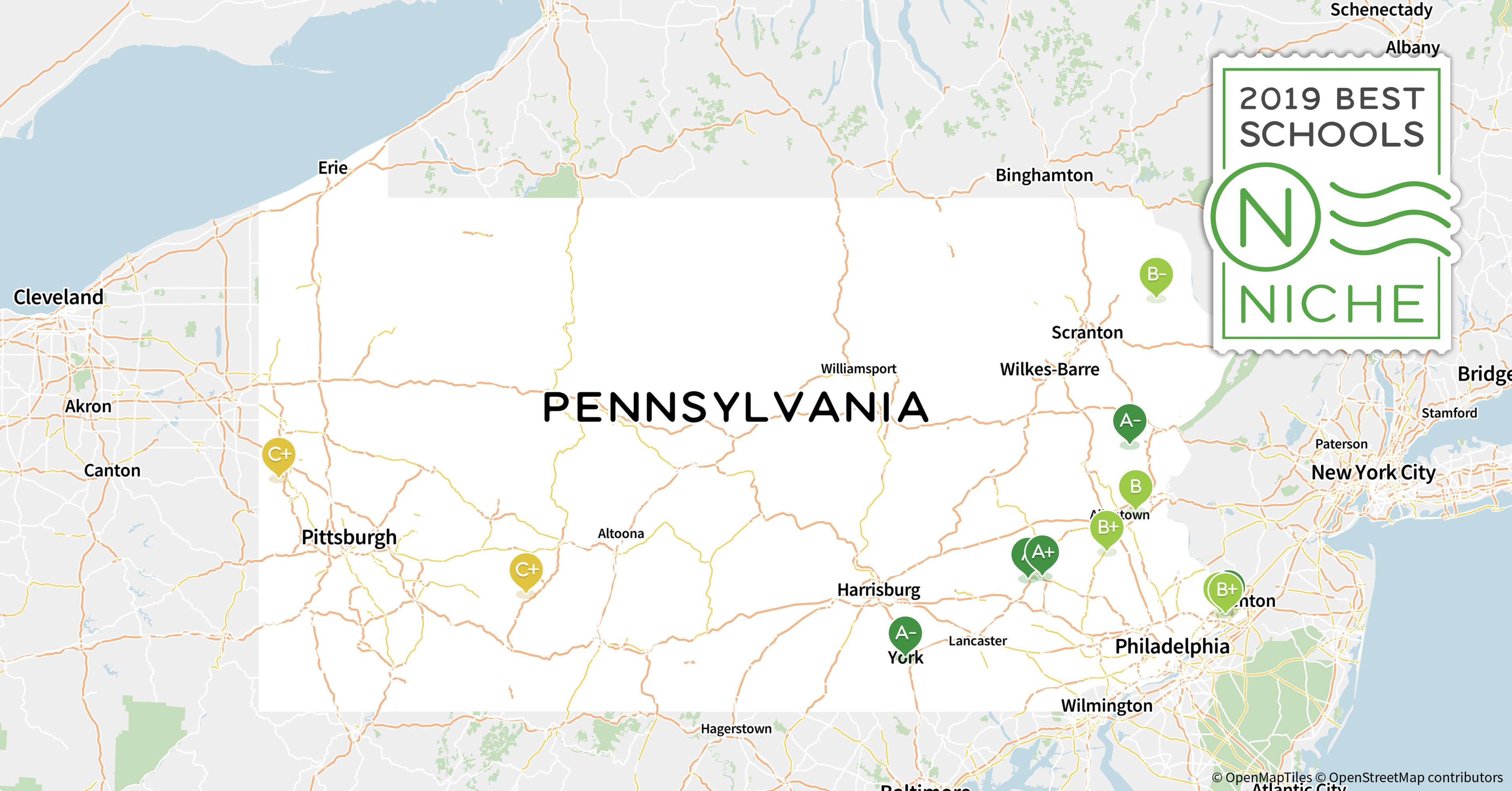 2019 Best School Districts in Pennsylvania - Niche