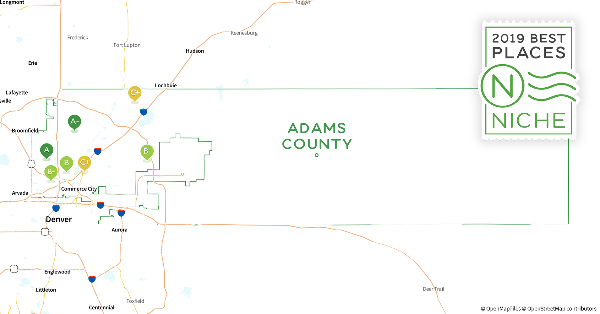 2019 Best Places To Live In Adams County Co Niche
