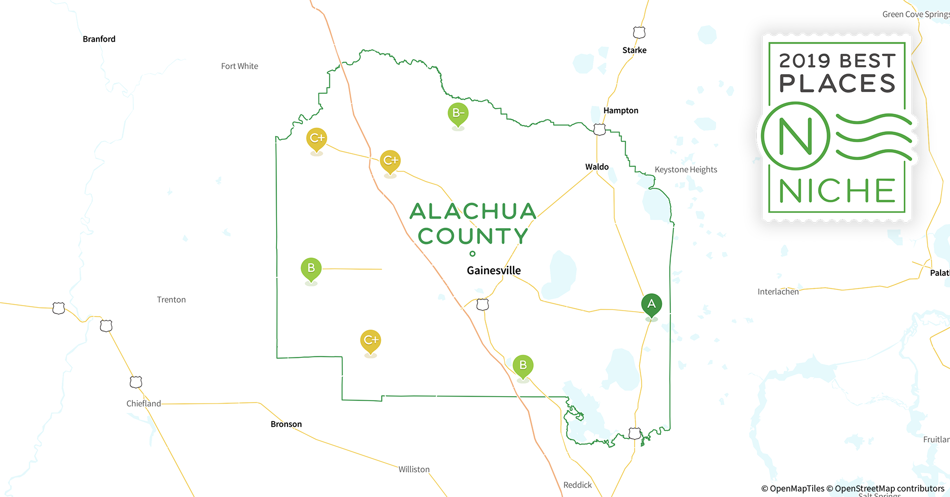 2019 Safe Places to Live in Alachua County, FL - Niche