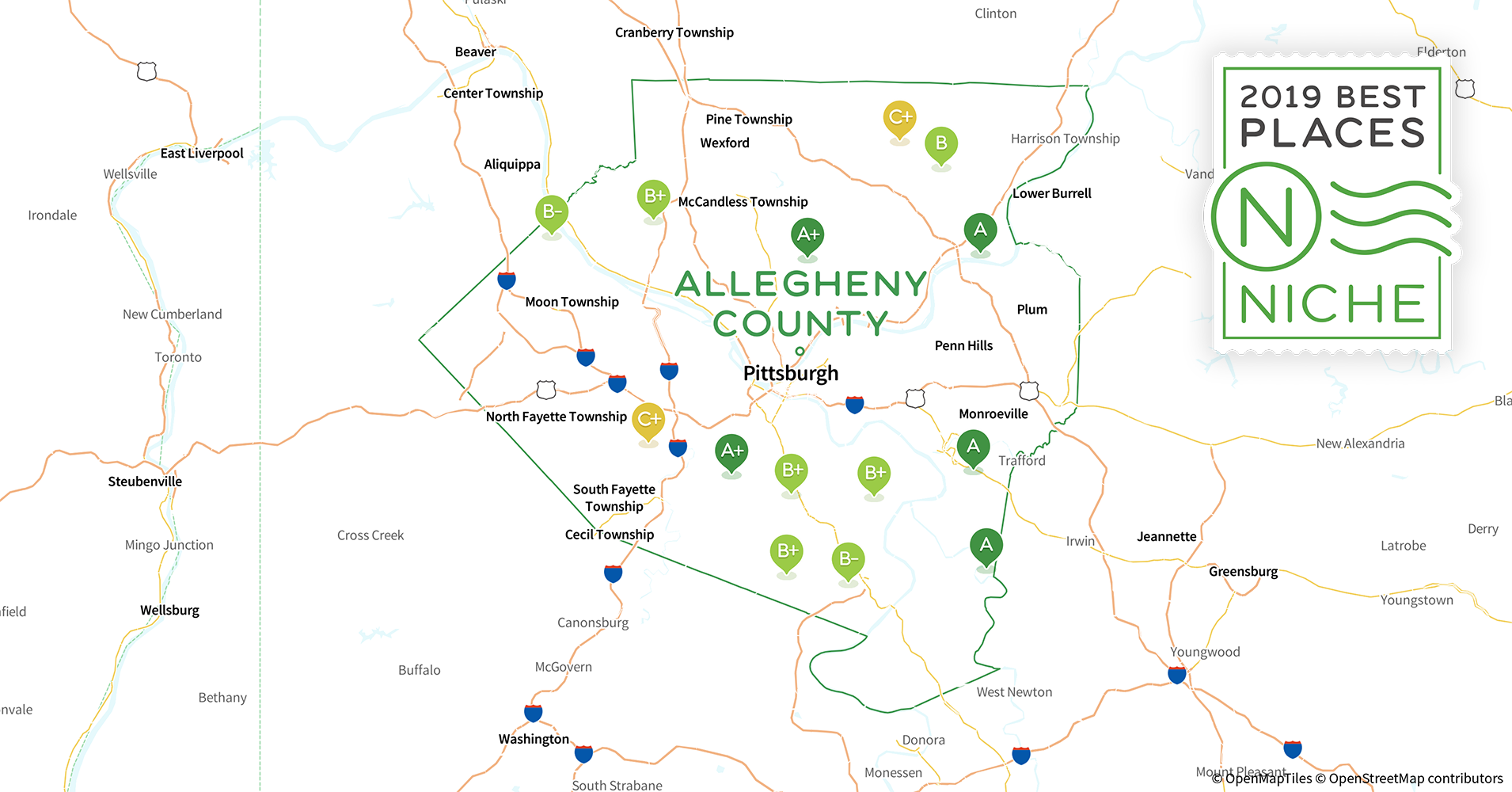 2019 Best Places to Live in Allegheny County, PA - Niche