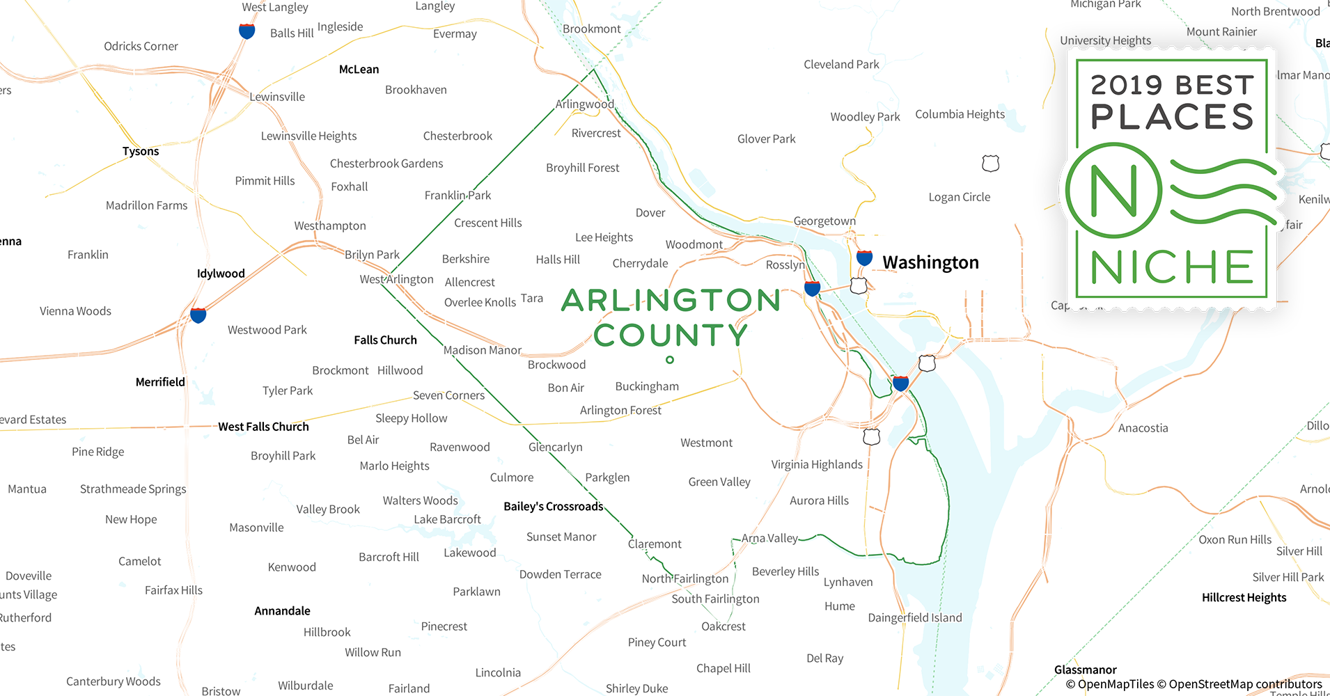 2019 Best Places to Live in Arlington County, VA - Niche