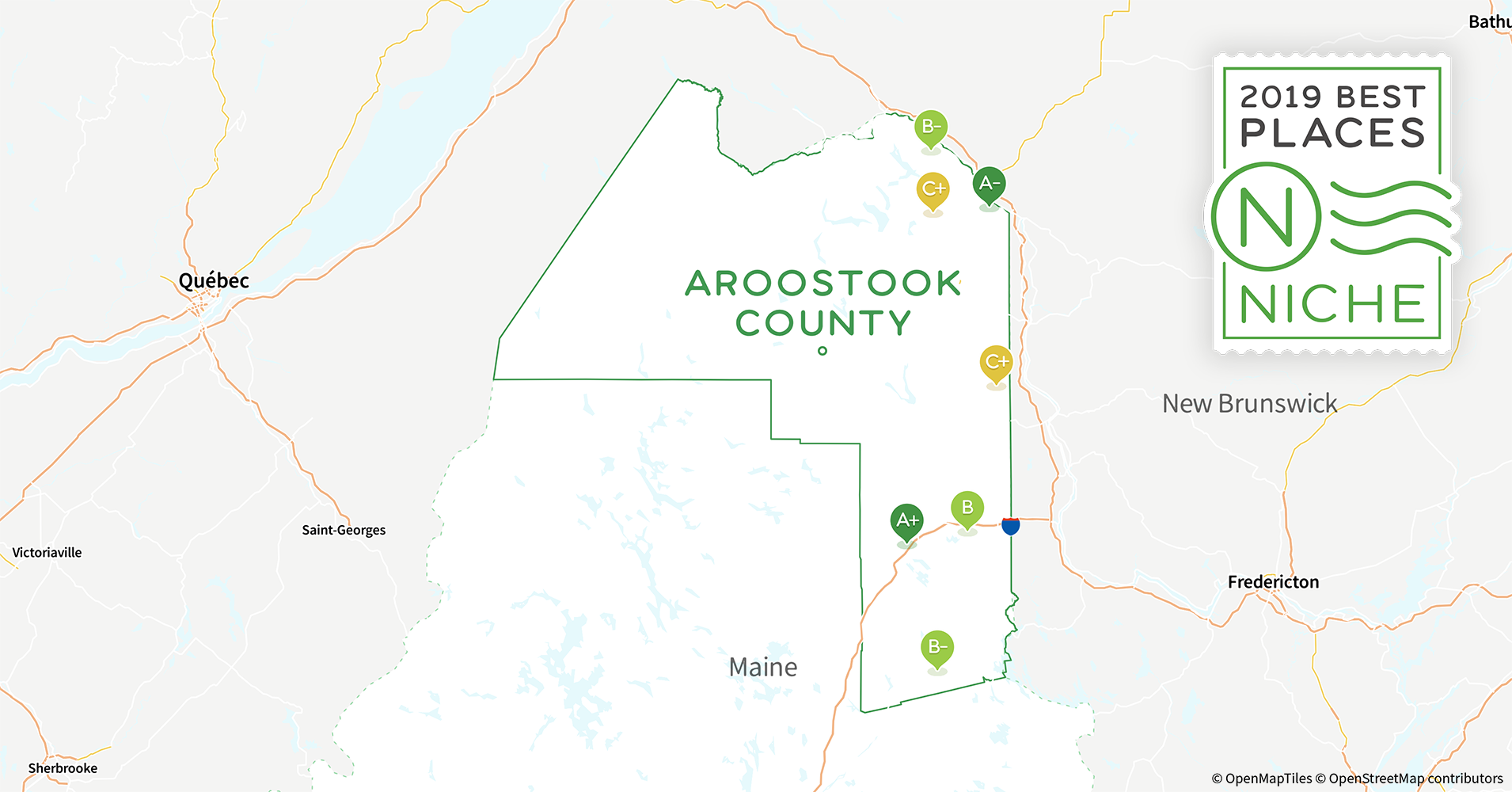 2019 Best Places To Live In Aroostook County Me Niche