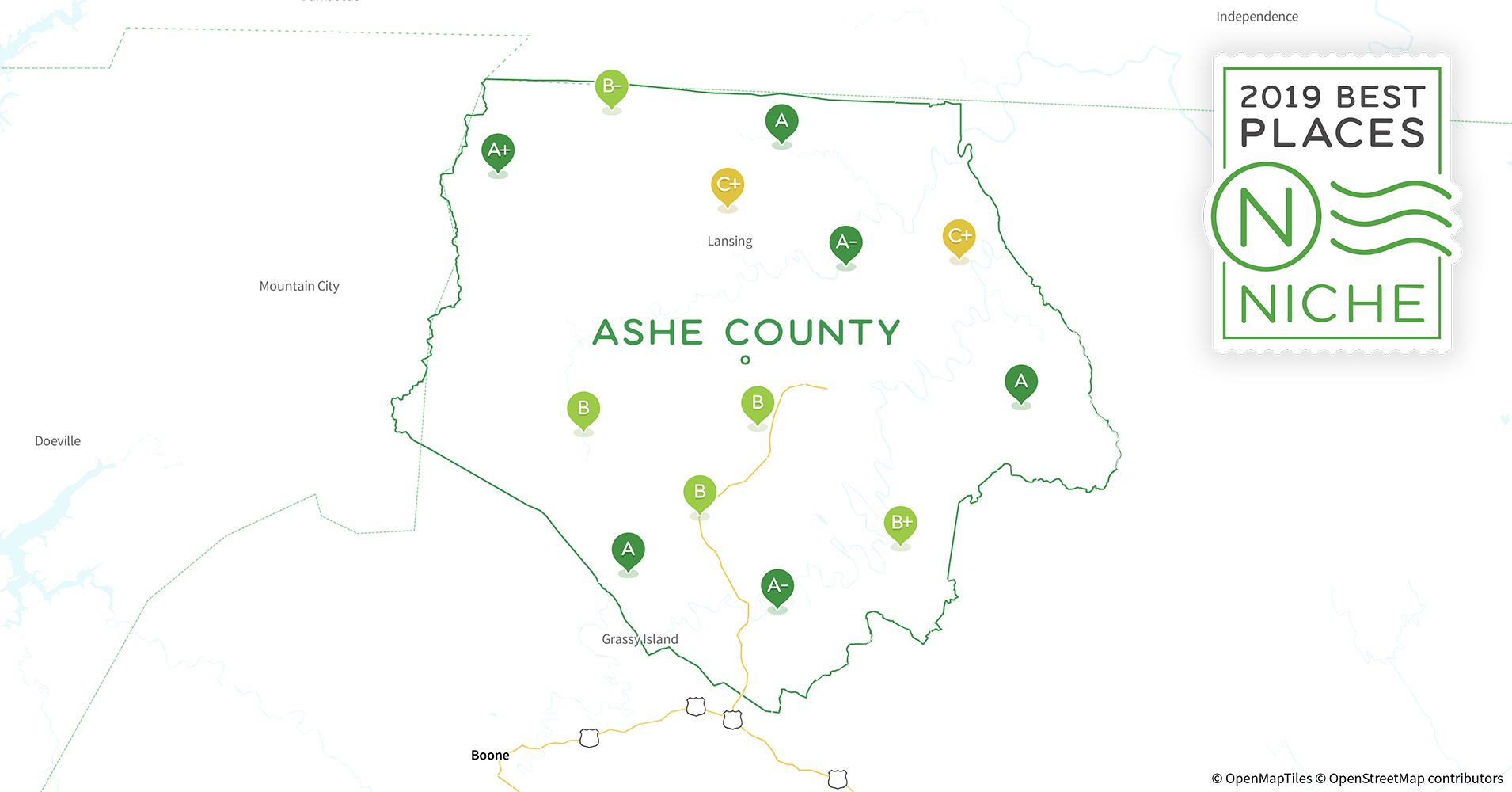 2019 Best Places To Live In Ashe County Nc Niche