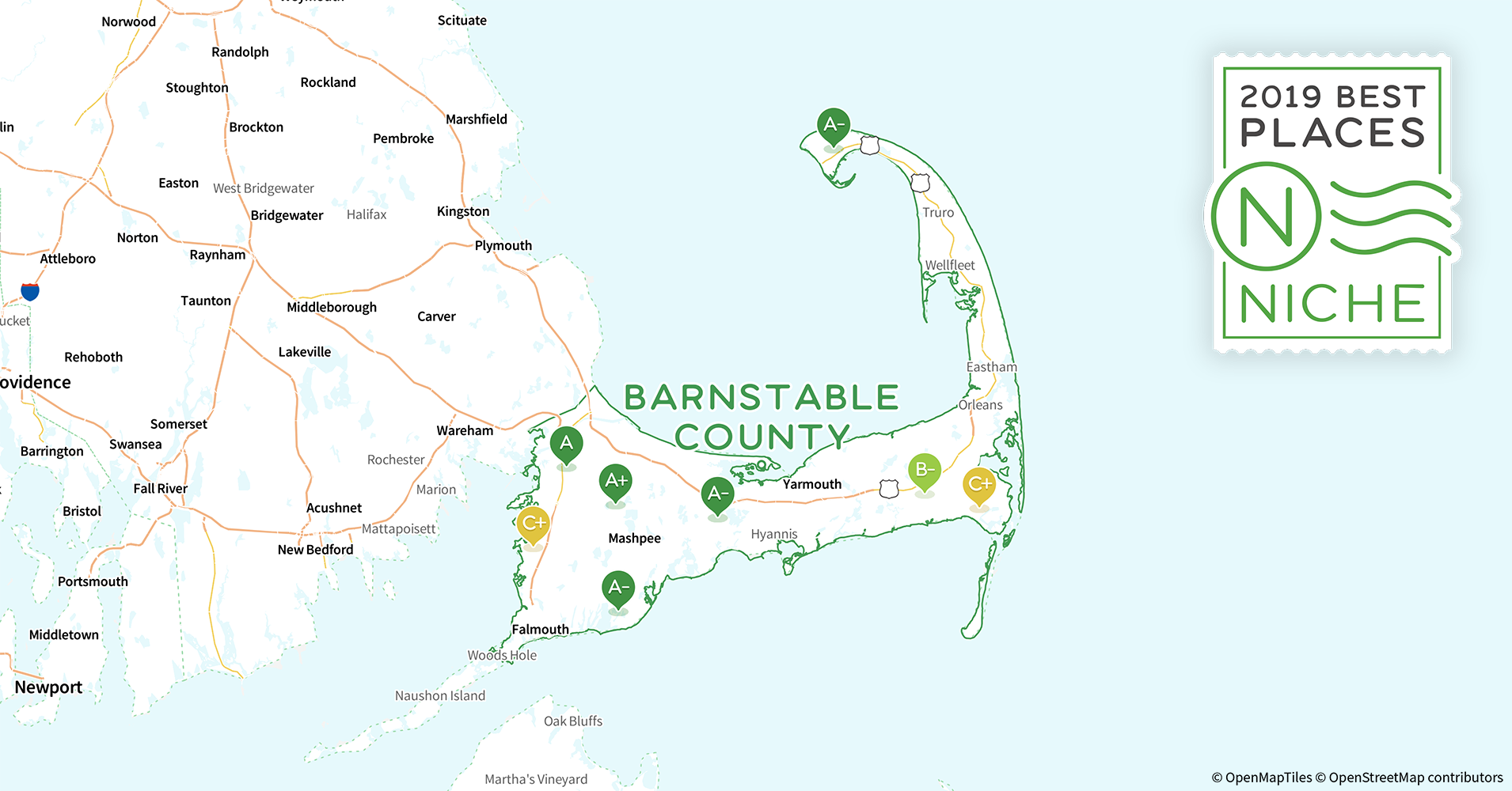 2019 Best Places to Buy a House in Barnstable County, MA - Niche