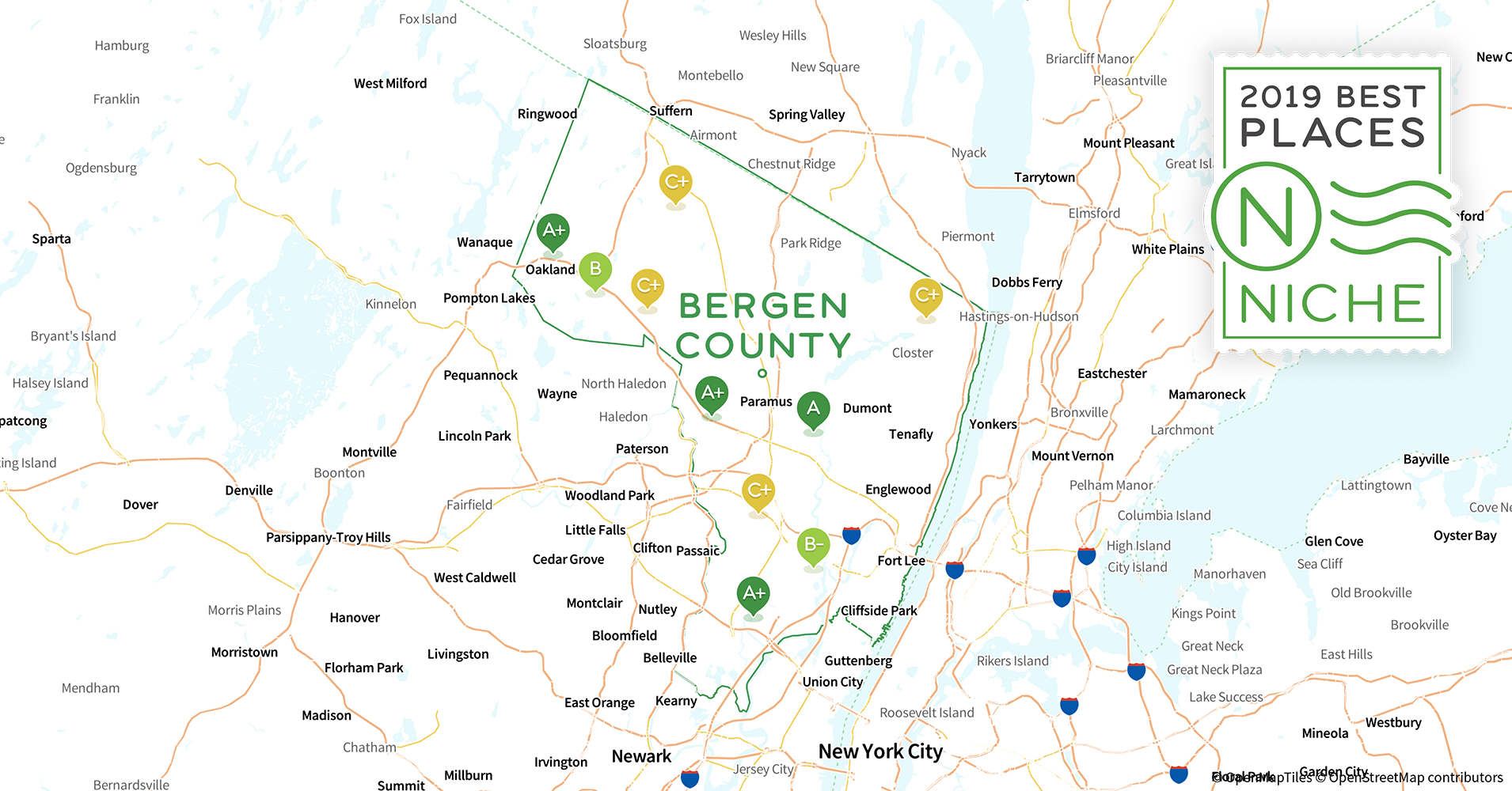 2019 Best Places to Live in Bergen County, NJ - Niche Map Bergen County Nj on morris county, burlington county, somerset nj map, oakland nj map, richmond nj map, branch brook park nj map, orange county ny map, sussex county, waterloo village nj map, edgewater neighborhood chicago map, river edge nj map, sparta township nj map, independence township nj map, passaic county, radburn nj map, hudson county, oradell nj map, middlesex county, mercer county, palisades interstate parkway nj map, musconetcong river nj map, somerset county, westchester county, union county map, hunterdon county, essex county, rockland county, monmouth county, parsippany nj map, warren county, pittsburgh nj map, greenwich township nj map, maryland nj map, union county, delran township nj map, jersey city,