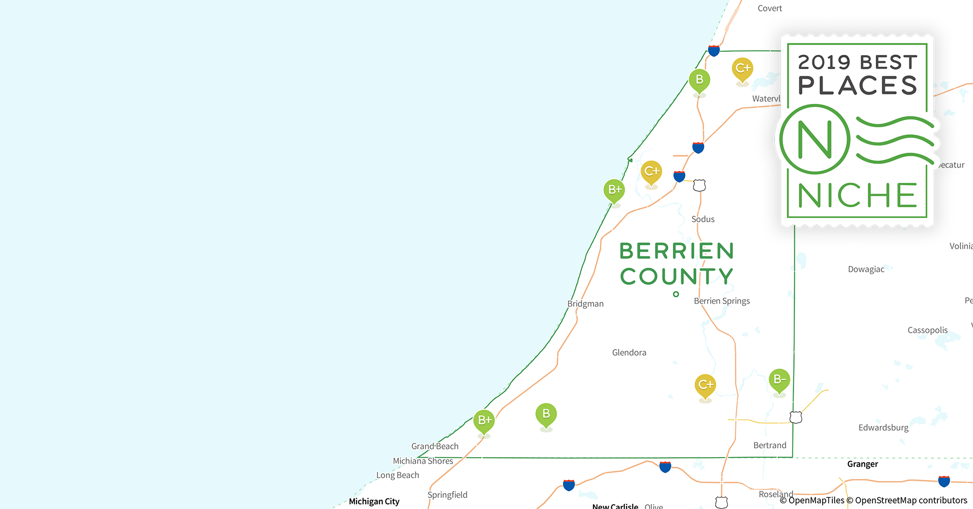2019 Safe Places to Live in Berrien County, MI - Niche