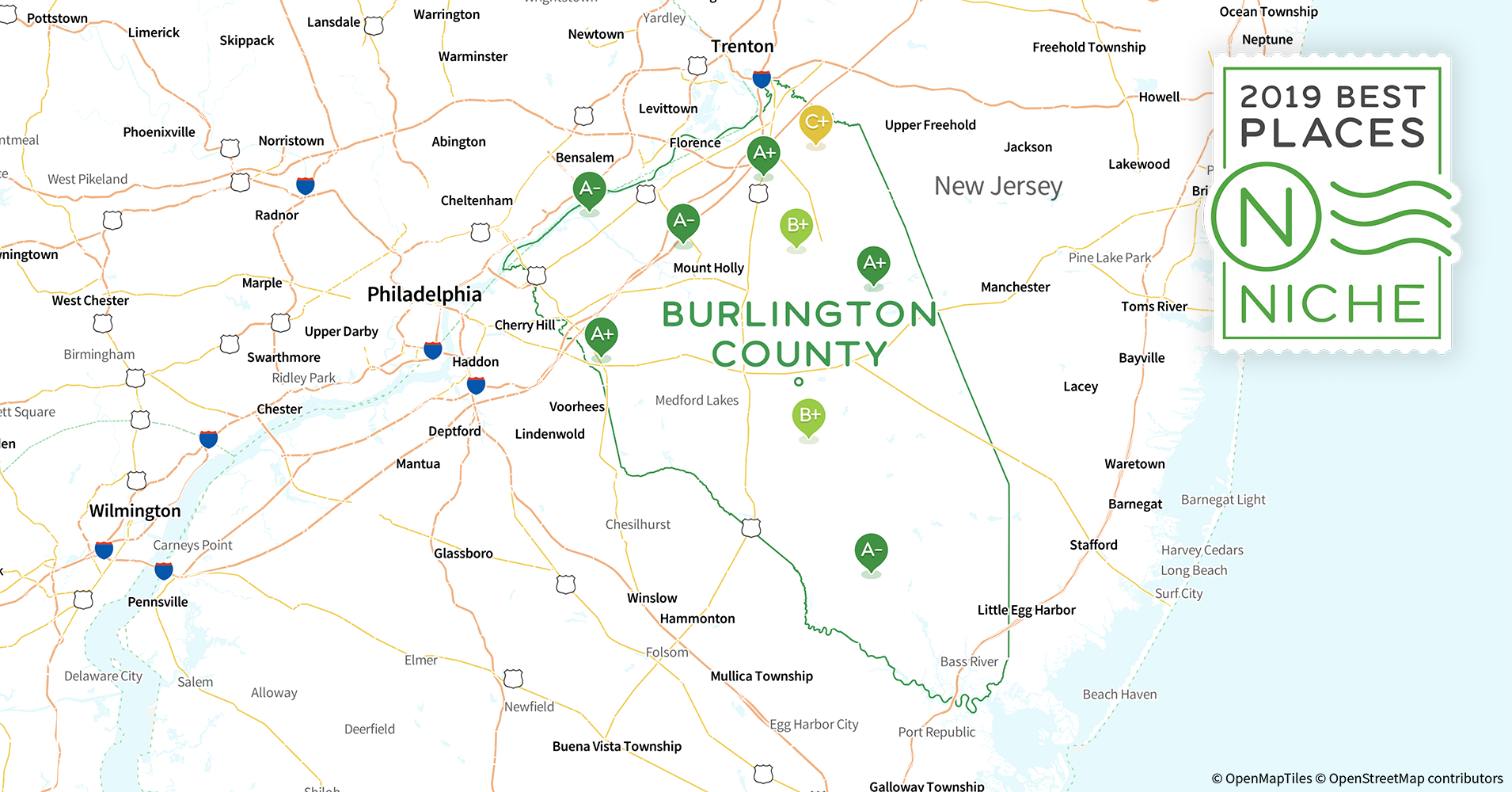 2019 Best Places to Live in Burlington County, NJ - Niche Map Burlington County Nj on cape may county, bordentown nj map, bergen county, hudson county, wharton state forest nj map, cherry hill nj map, blue anchor nj map, mercer county nj map, camden county, somerset county, somerset park nj map, gloucester county, passaic county, historic smithville nj trail map, cumberland county, mercer county, mount laurel nj map, south jersey, bergen county nj map, warren county, morris county, salem county nj map, essex county, gloucester county nj map, vista center nj map, westampton nj map, lakehurst nj map, ocean county, middlesex county, union county, cumberland county nj map, hunterdon county, monmouth county nj map, stafford county nj map, atlantic county nj map, atlantic county, ocean county nj map, south bound brook nj map, monmouth county,