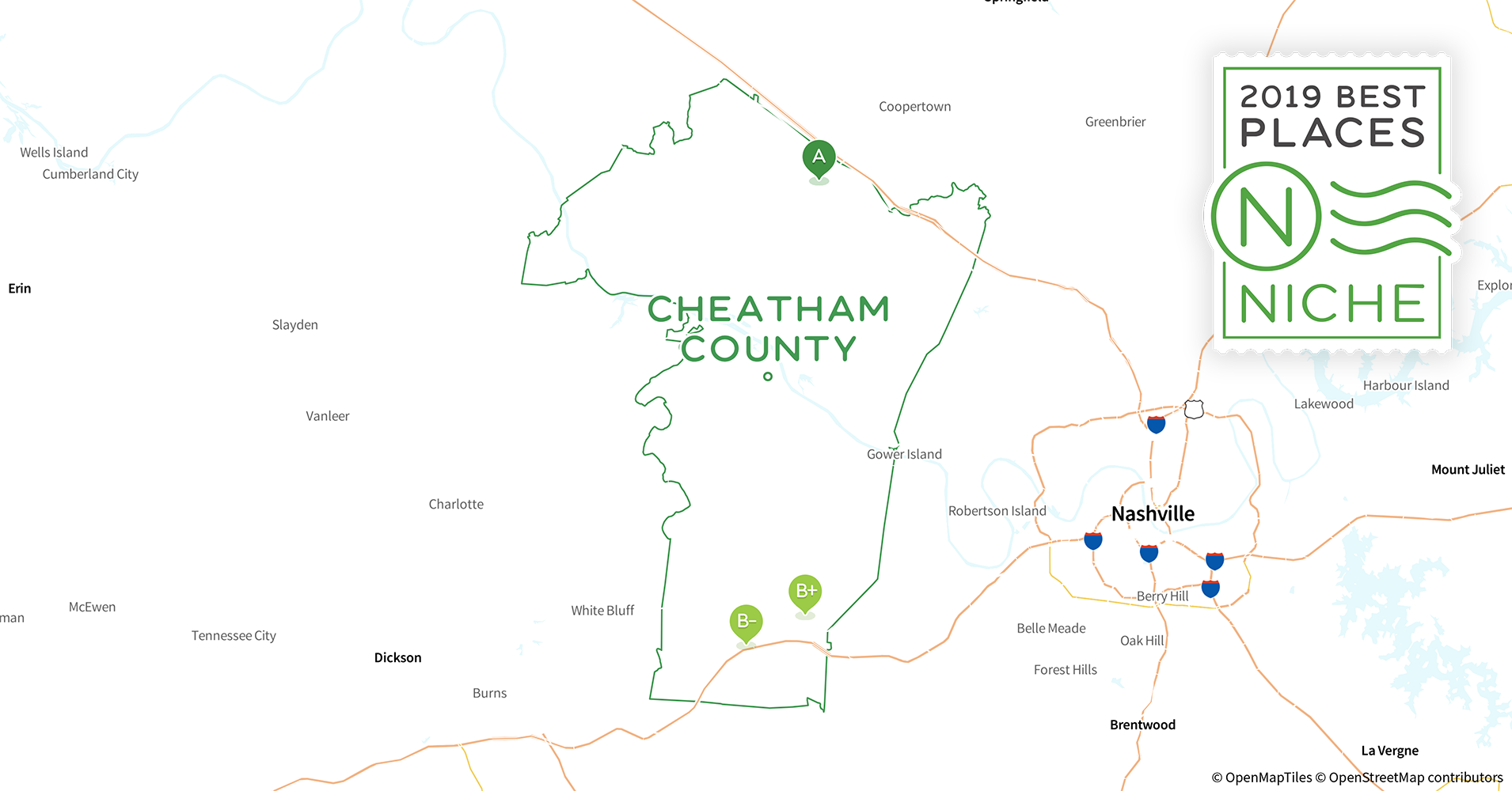 2019 Safe Places to Live in Cheatham County, TN - Niche