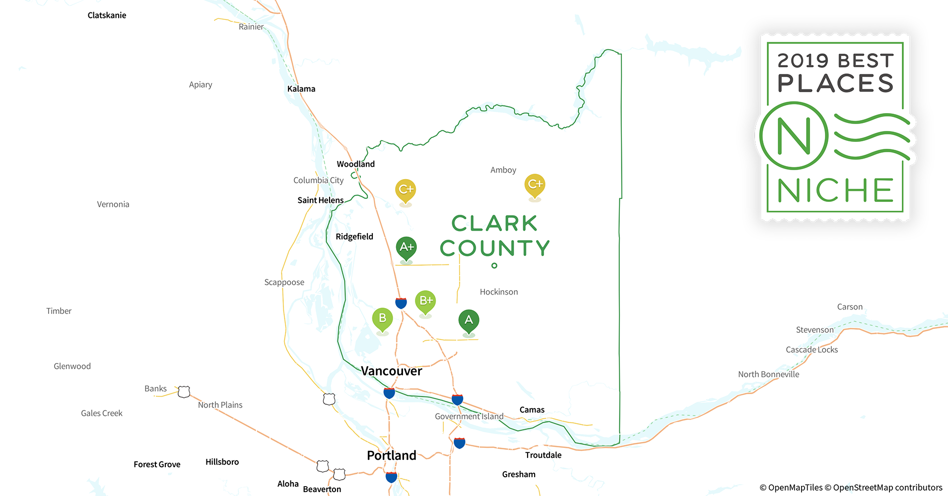 2019 Safe Places To Live In Clark County Wa Niche