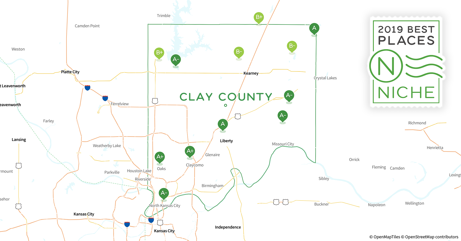 2019 Best ZIP Codes to Buy a House in Clay County, MO - Niche Zip Map Of Missouri on missouri mls map, missouri meth map, missouri postal code map, missouri congressional district map, missouri street map, missouri county map, missouri state map, missouri zone map, missouri school district map,