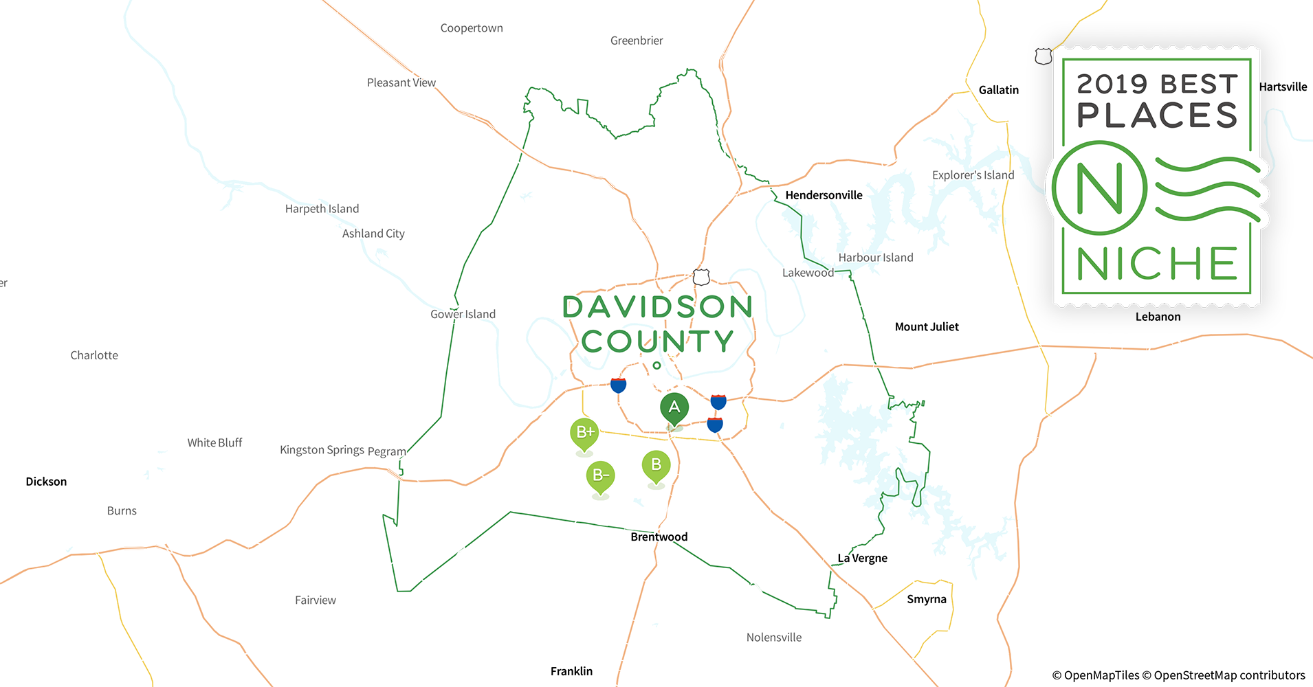 2019 Best Places to Live in Davidson County, TN - Niche