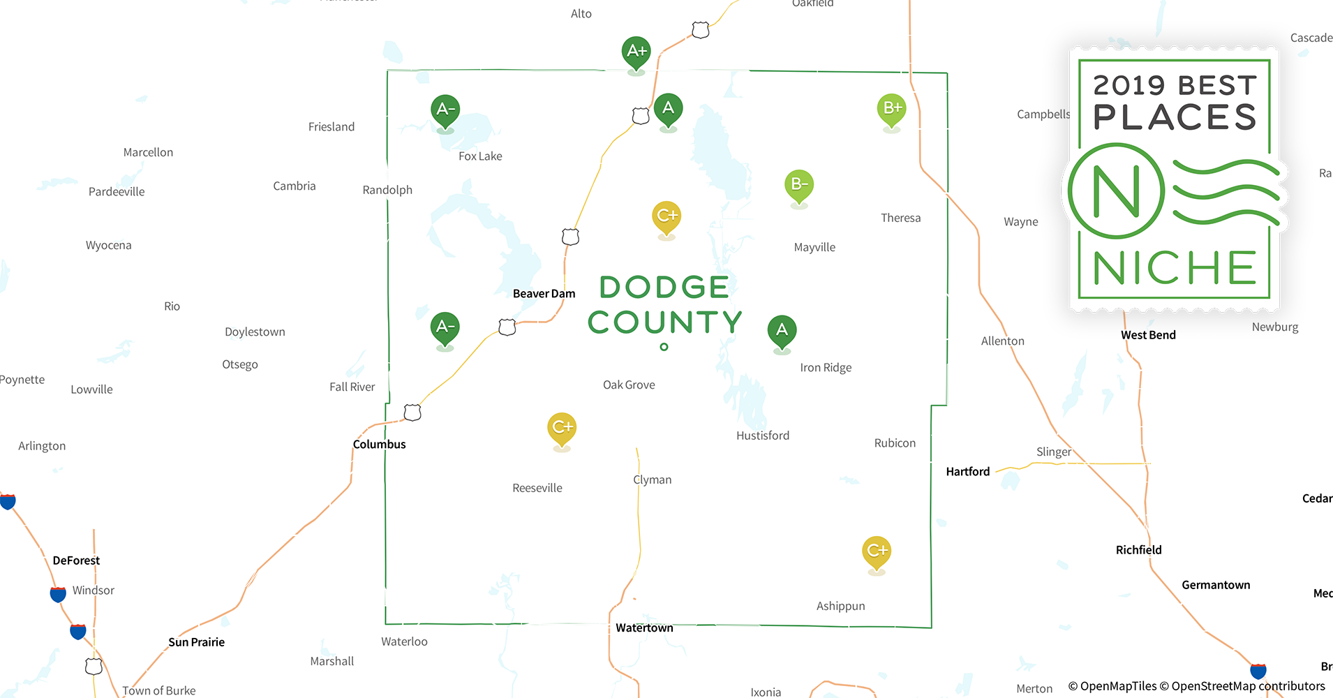 2019 Best Places to Live in Dodge County, WI - Niche Dodge County Wi Map on columbia co wi map, rock county wi map, fond du lac county wi map, falls marinette county wi map, dunn county snowmobile map, fond du lac, kenosha county, dane county, door county wi map, rock county, vernon county, la crosse, racine county, florence county wi map, town of dunn wi map, door county, city of racine wi map, iron ridge map, monroe county, wisconsin map, marinette county, jefferson county wi map, columbia county, milwaukee county, washington county, dane county wi map, menominee county wi map, sauk prairie wi map, kewaunee county townships map, south central wi map, jefferson county, columbia county wi map, washington county wi map, grant county, green lake wi map, waukesha county, beaver dam,
