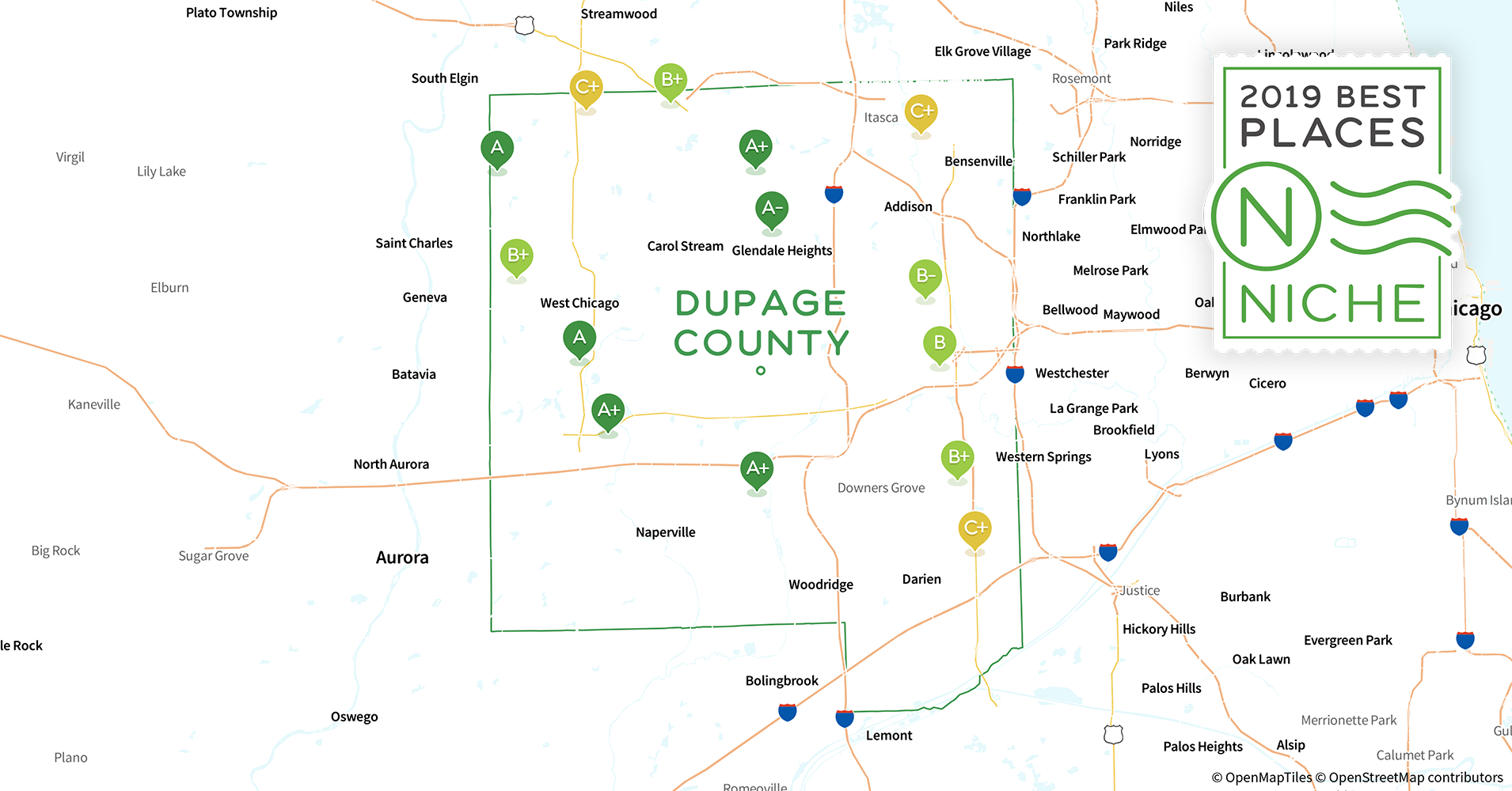 2019 Best Places to Buy a House in DuPage County, IL - Niche