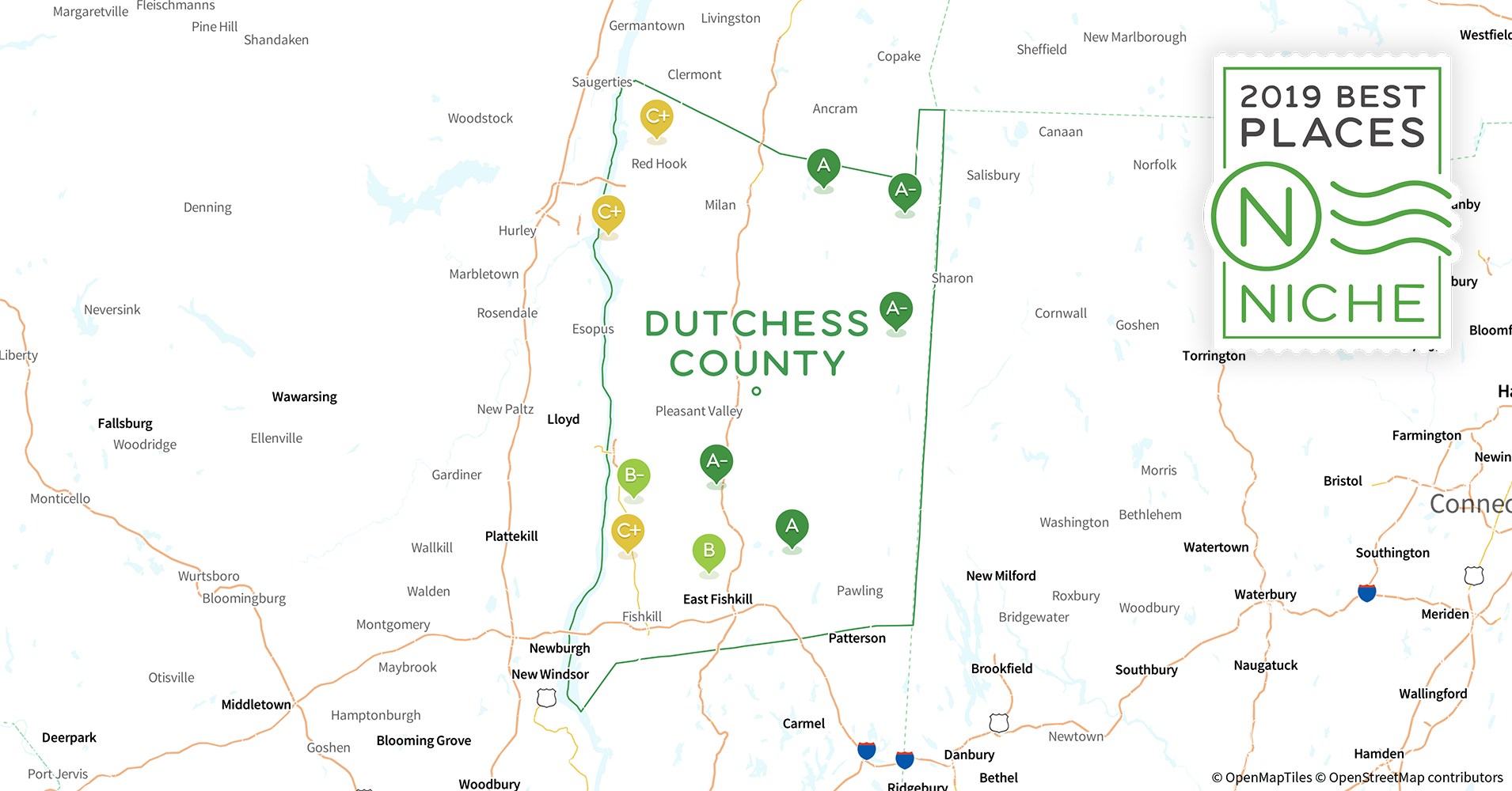 2019 Best Places to Live in Dutchess County, NY - Niche
