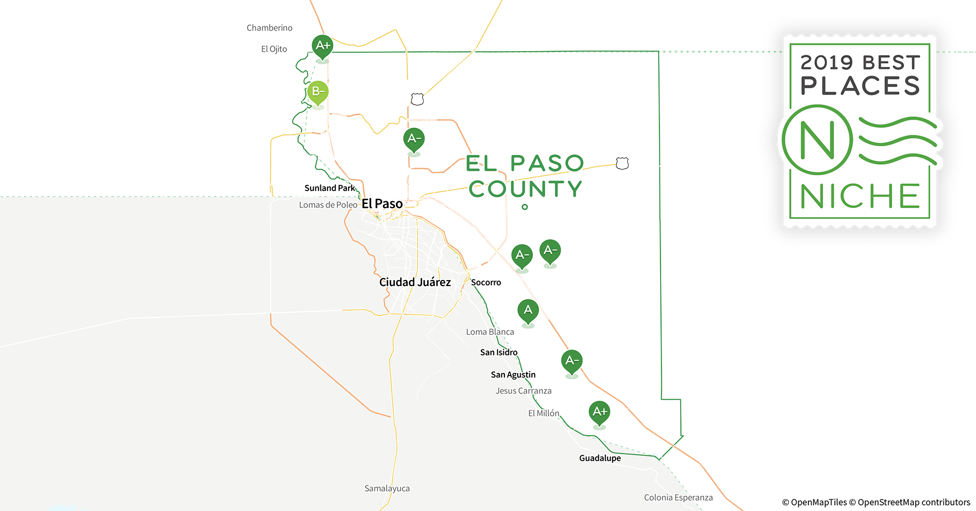 2019 Best Zip Codes To Buy A House In El Paso County Tx Niche