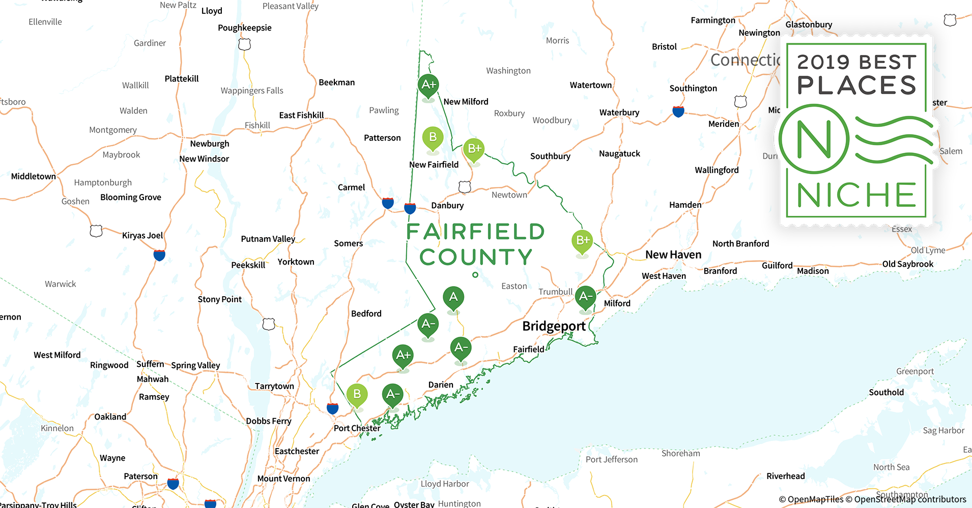 2019 Safe Places to Live in Fairfield County, CT - Niche