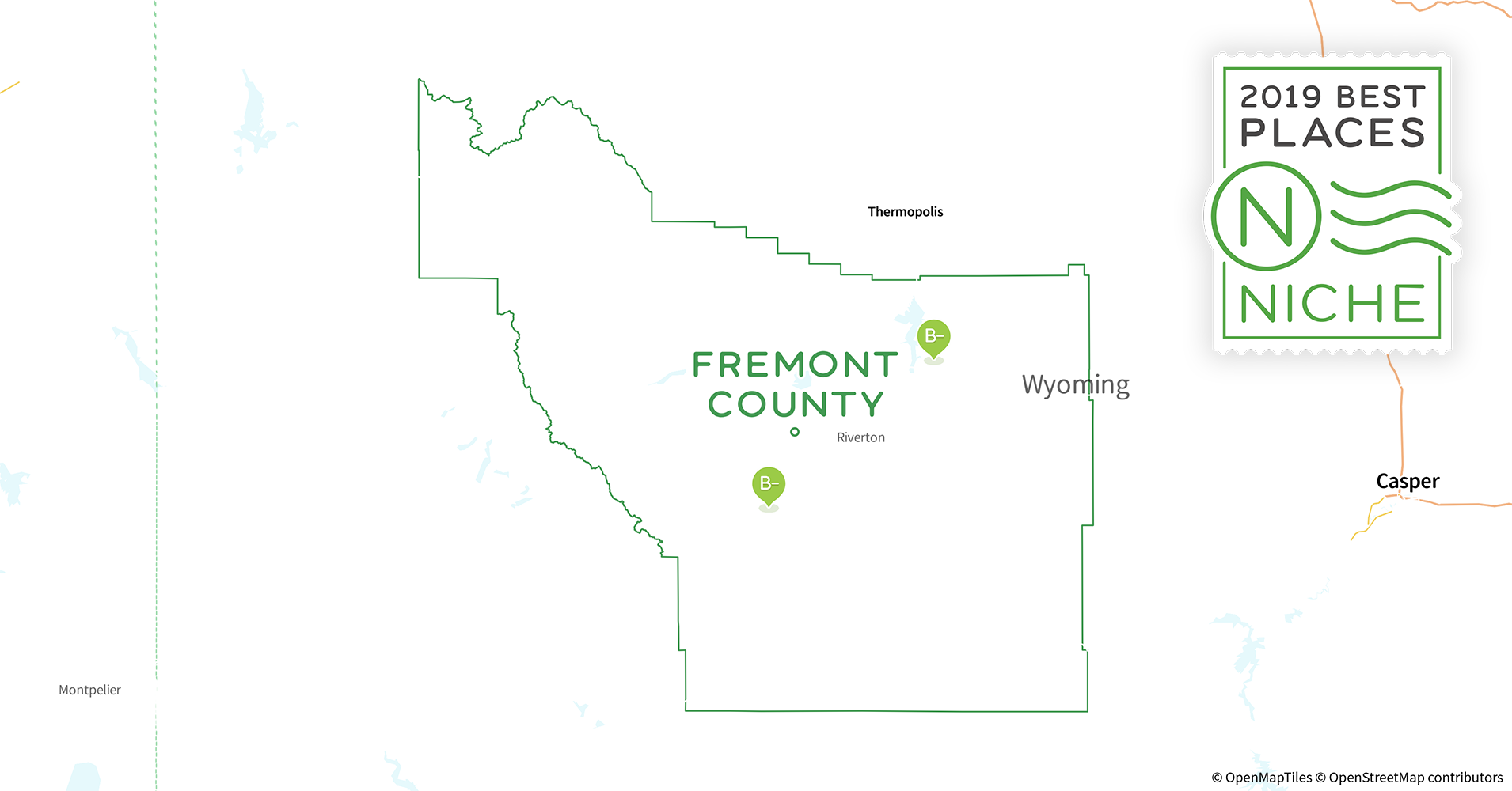 2019 Best Places To Live In Fremont County Wy Niche