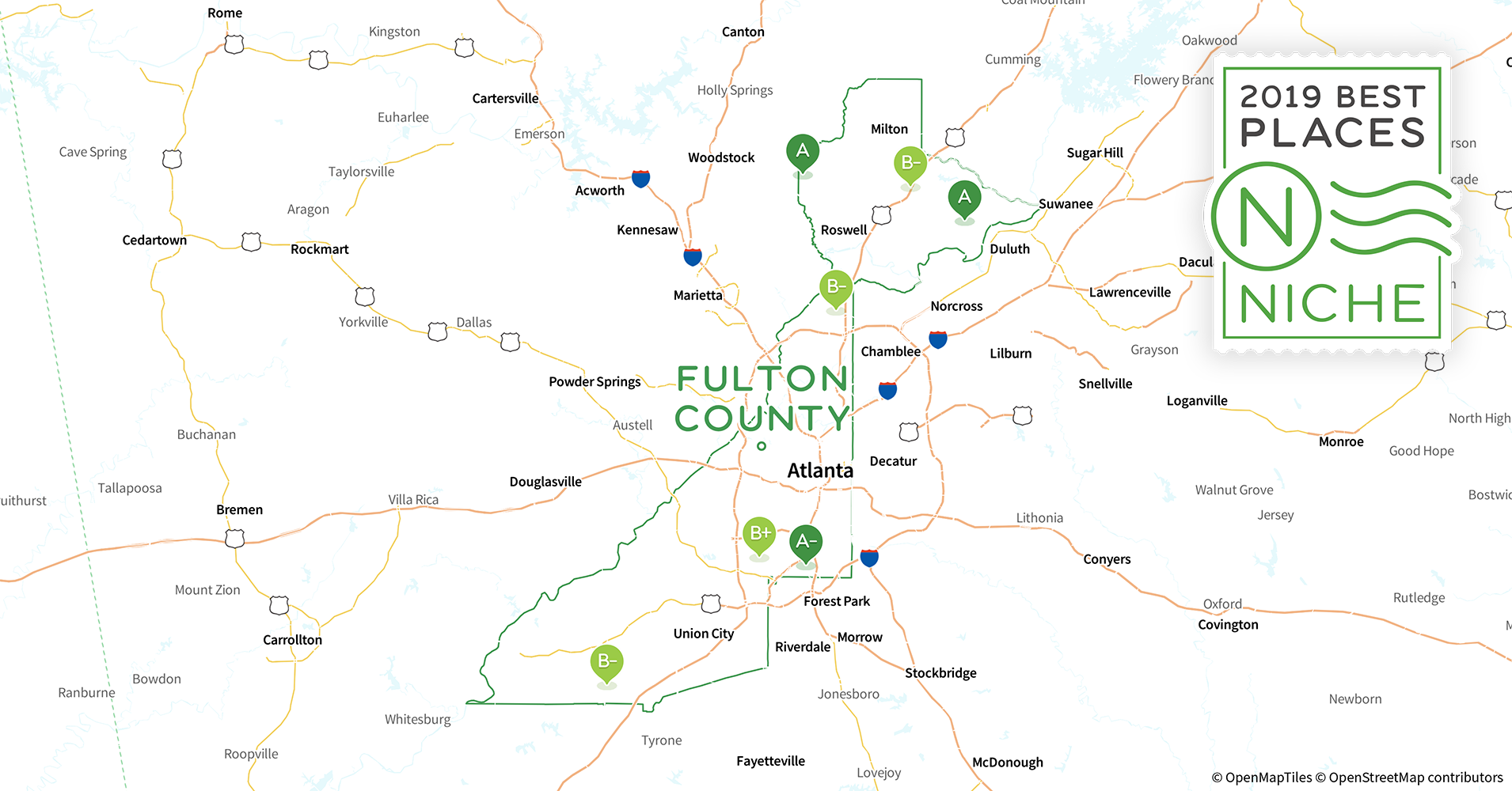 2019 Best Places to Raise a Family in Fulton County, GA - Niche