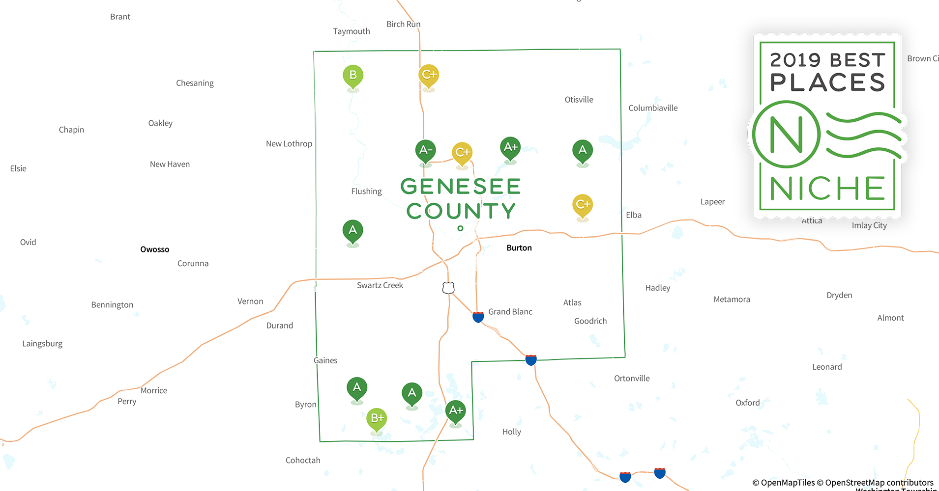 2019 Best Places to Live in Genesee County, MI - Niche Genesee Valley Mall Map on genesee river watershed map, marion mall map, genesee valley hours, genesee town on a map of location, olean mall map, jamestown mall map, ny waterway map, buffalo mall map, frontier mall map, willow bend mall map, new york city mall map, livonia mall map, valley ford mt map,