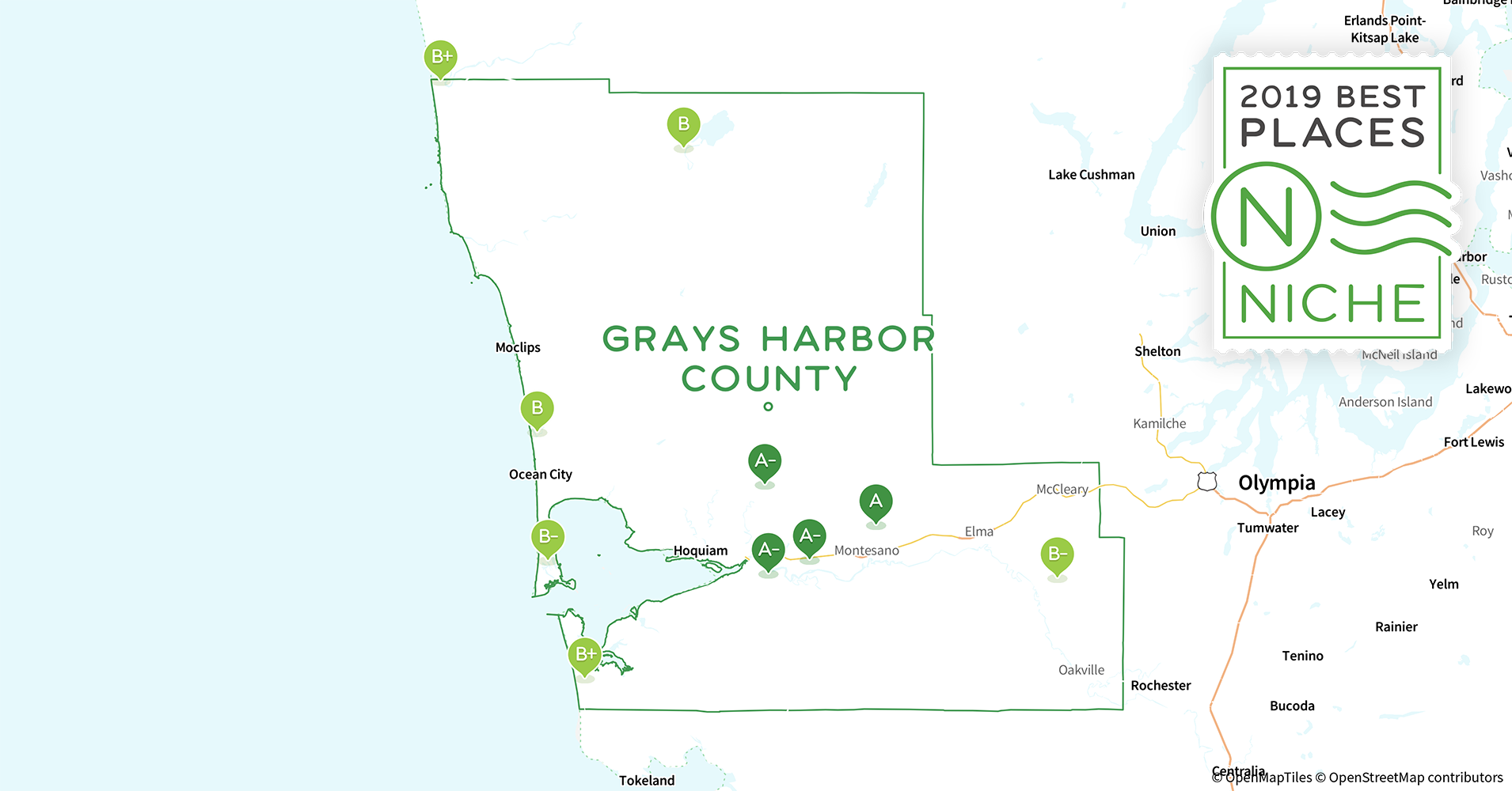 2019 Best Places to Live in Grays Harbor County, WA - Niche