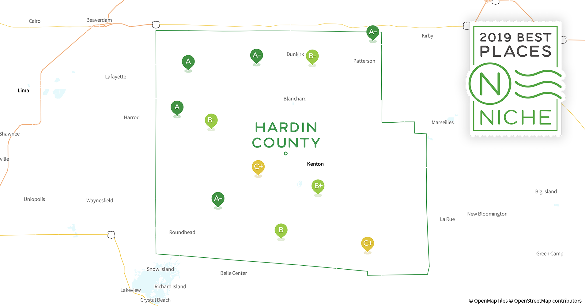 2019 Best Places to Live in Hardin County, OH - Niche