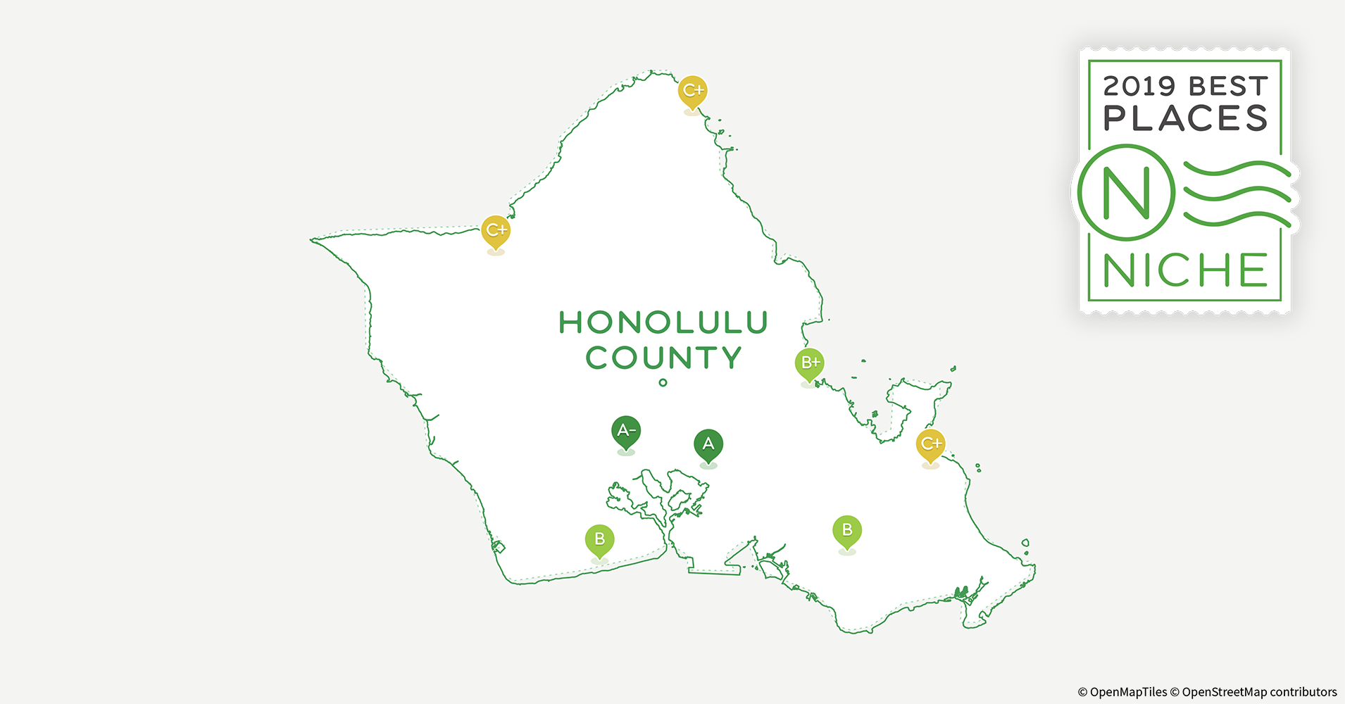2019 Best Places to Live in Honolulu County, HI - Niche