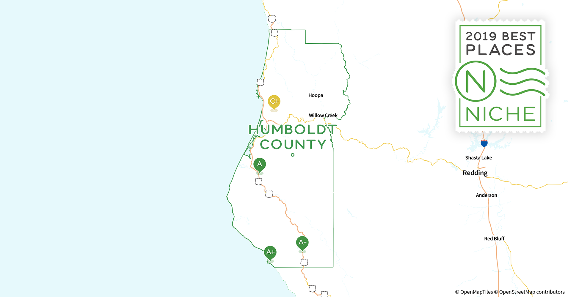 2019 Best Places To Live In Humboldt County Ca Niche