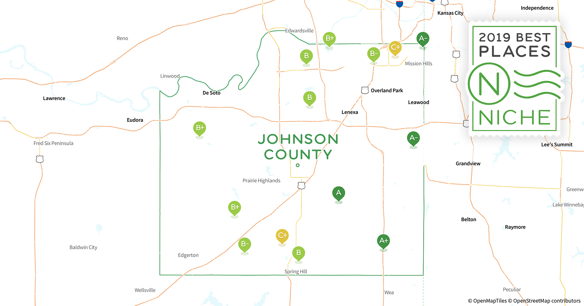 2019 Best Places to Live in Johnson County, KS - Niche